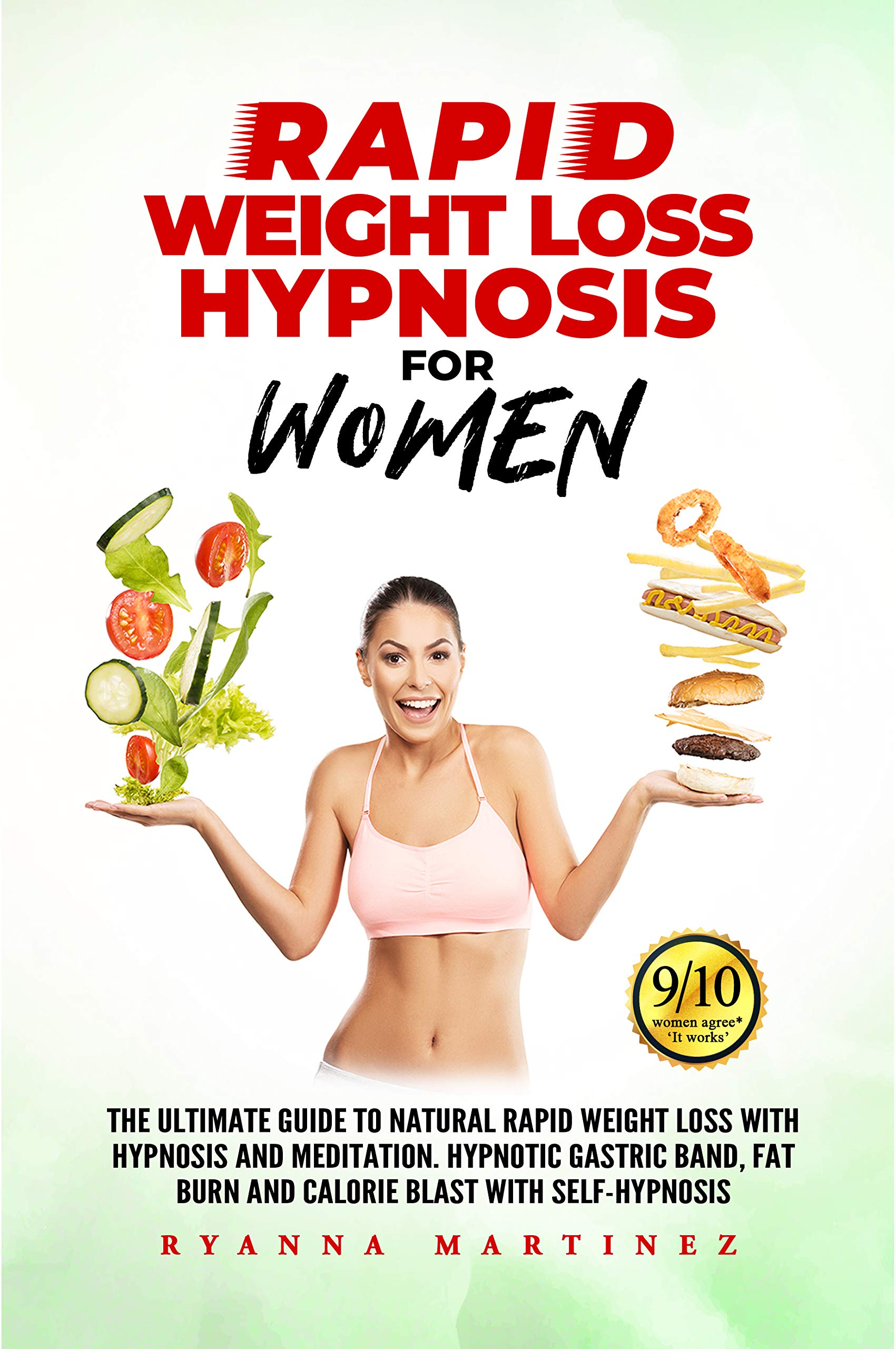 RAPID WEIGHT LOSS HYPNOSIS FOR WOMEN: The Ultimate Guide to Natural Rapid Weight Loss with Hypnosis and Meditation. Hypnotic Gastric Band, Fat Burn and Calorie Blast with Self-Hypnosis