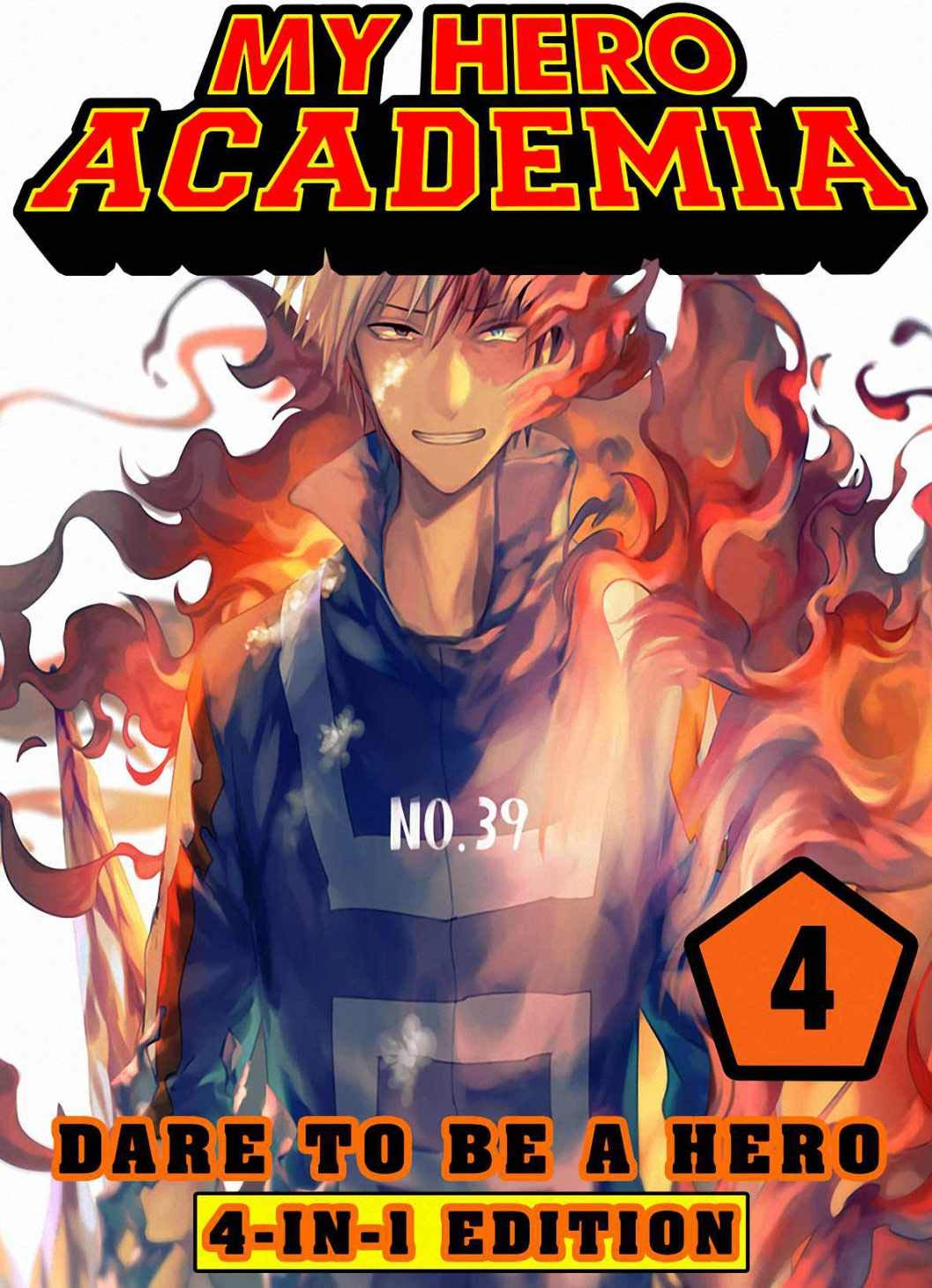 Dare To Be Hero: Book 4 Collection - 4-in-1 Edition - My Hero Academia Manga Adventure Action Shonen For Teen