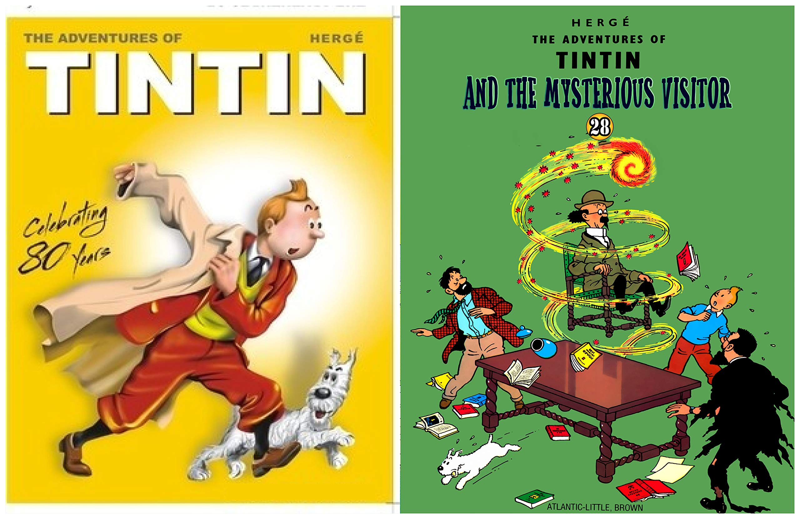 The Adventures Of TinTin Full Series : Issue 28- Tintin and the mysterious visitor