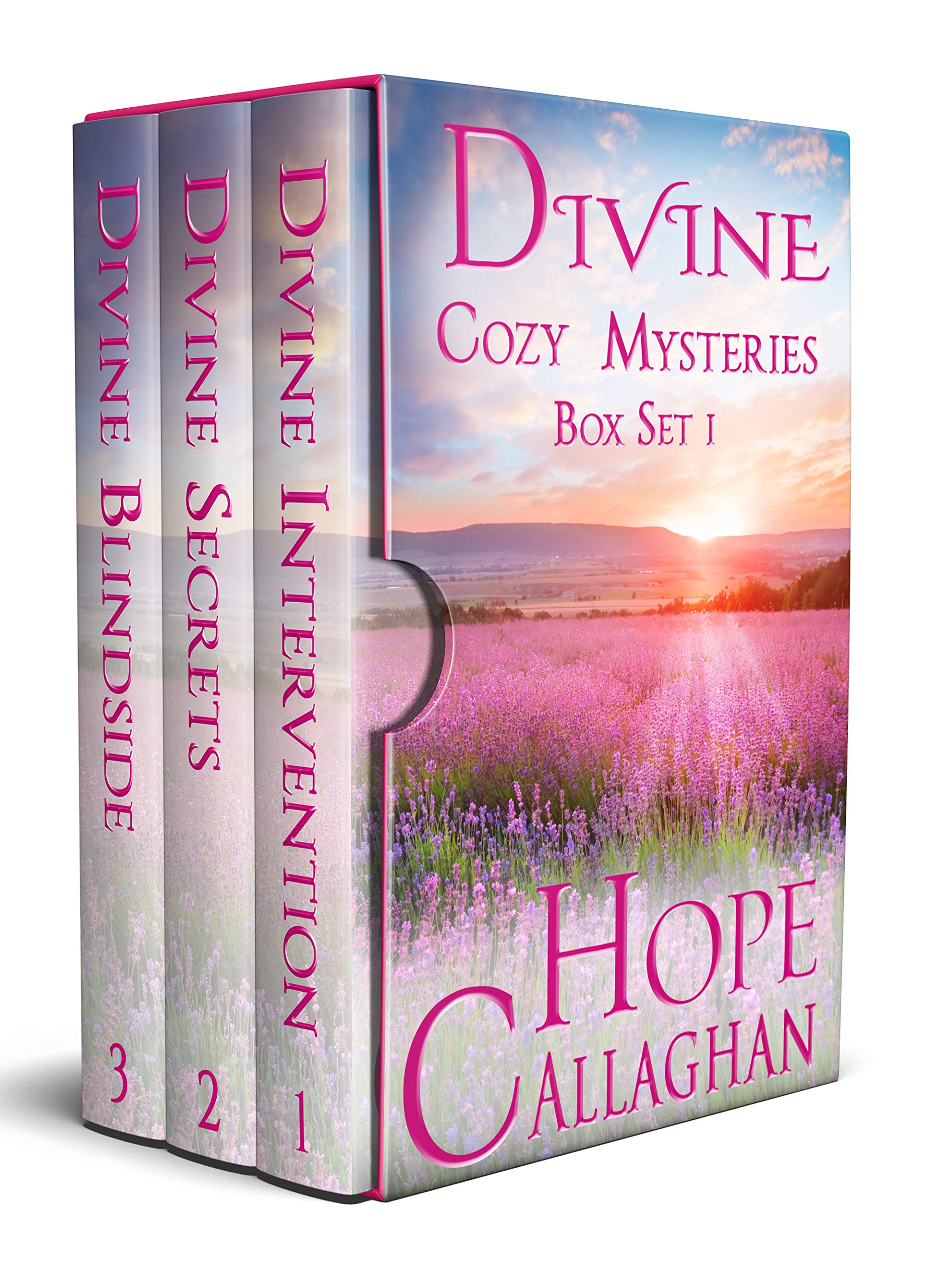 Divine Cozy Mystery Series: 3 Womens Fiction Christian Mystery Novels (Divine Cozy Mysteries Box Set Book 1)