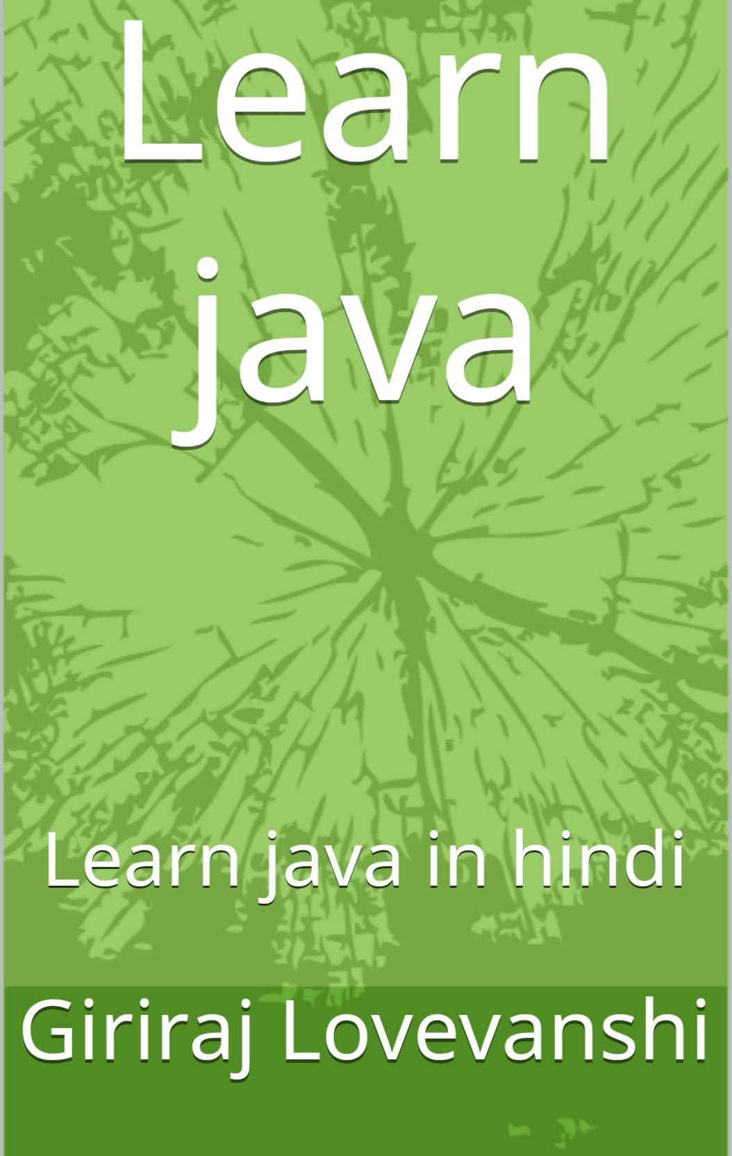 Learn java: Learn java in hindi (Android development Book 1)