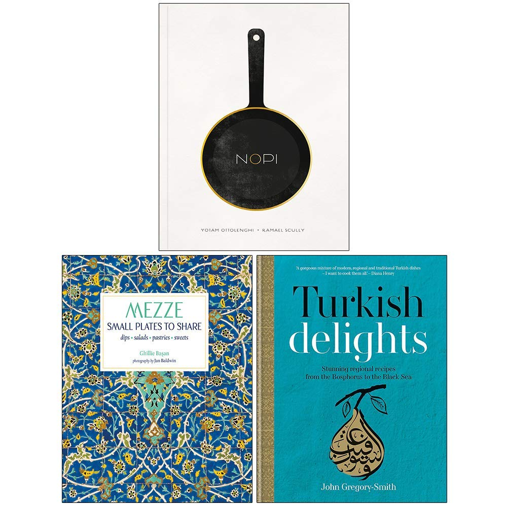 Nopi The Cookbook, Mezze Small Plates To Share, Turkish Delights 3 Books Collection Set