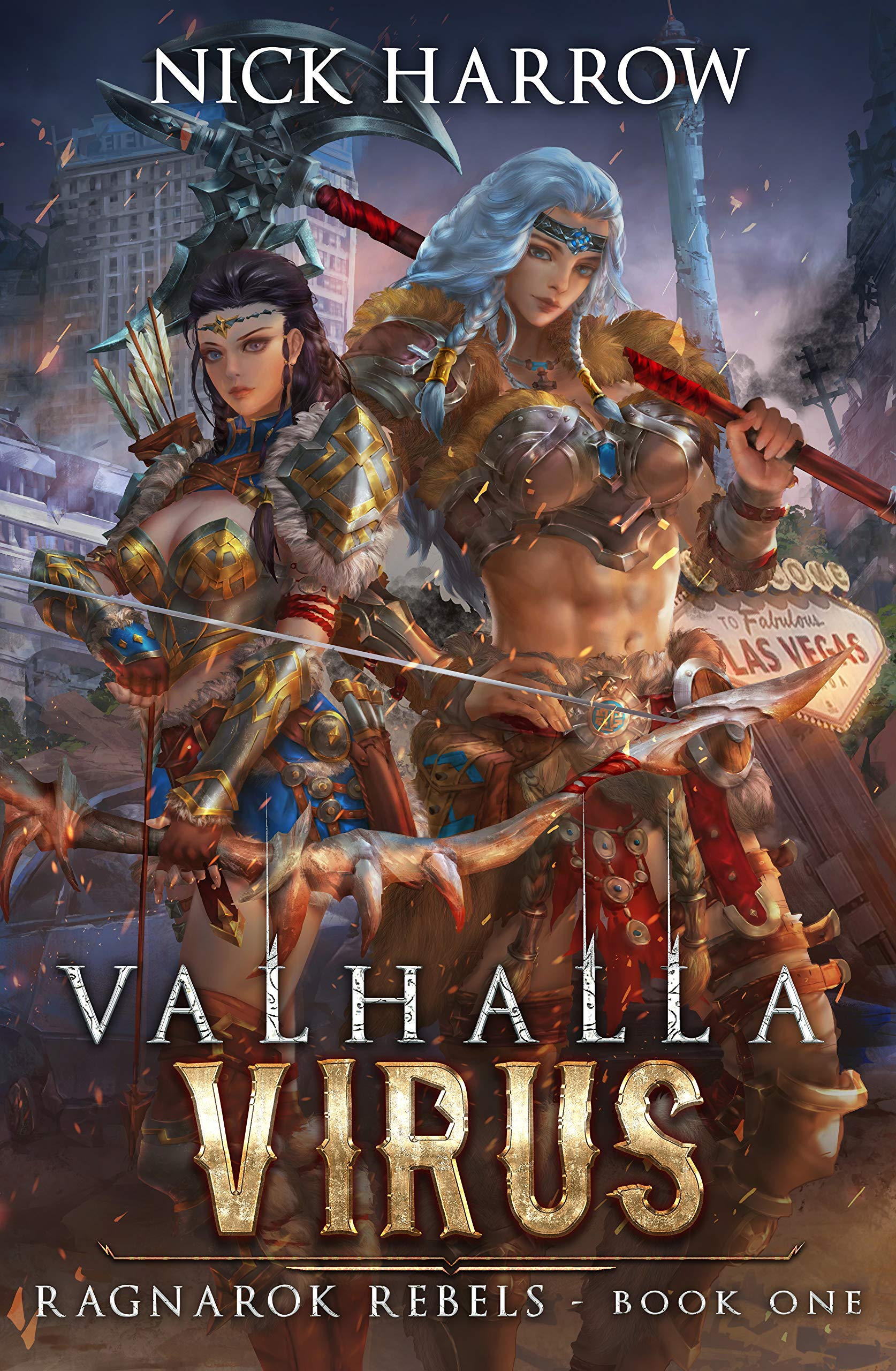 Valhalla Virus: A Fantasy Harem Adventure (Ragnarok Rebels Book 1)