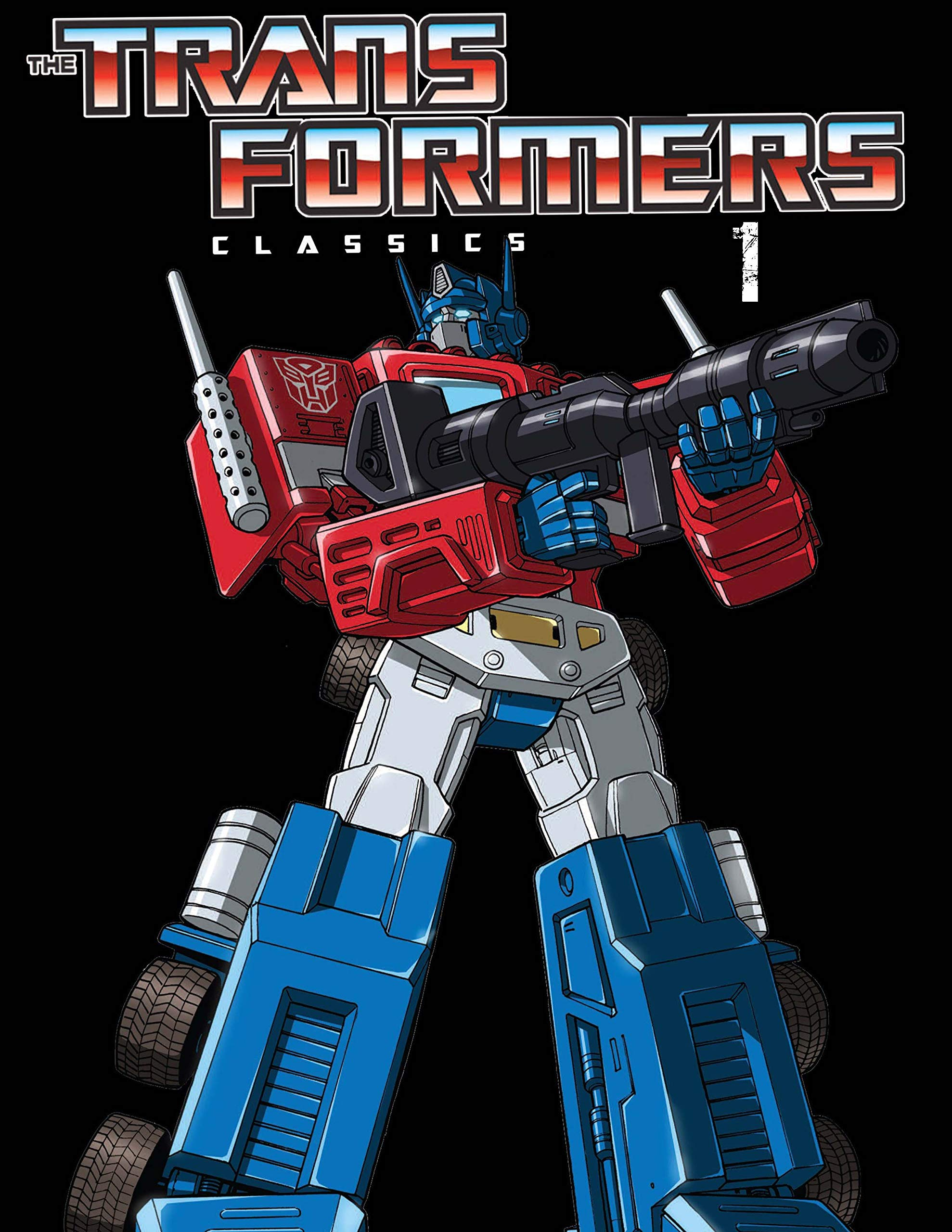 Comic Book: The Transformers Classics 1