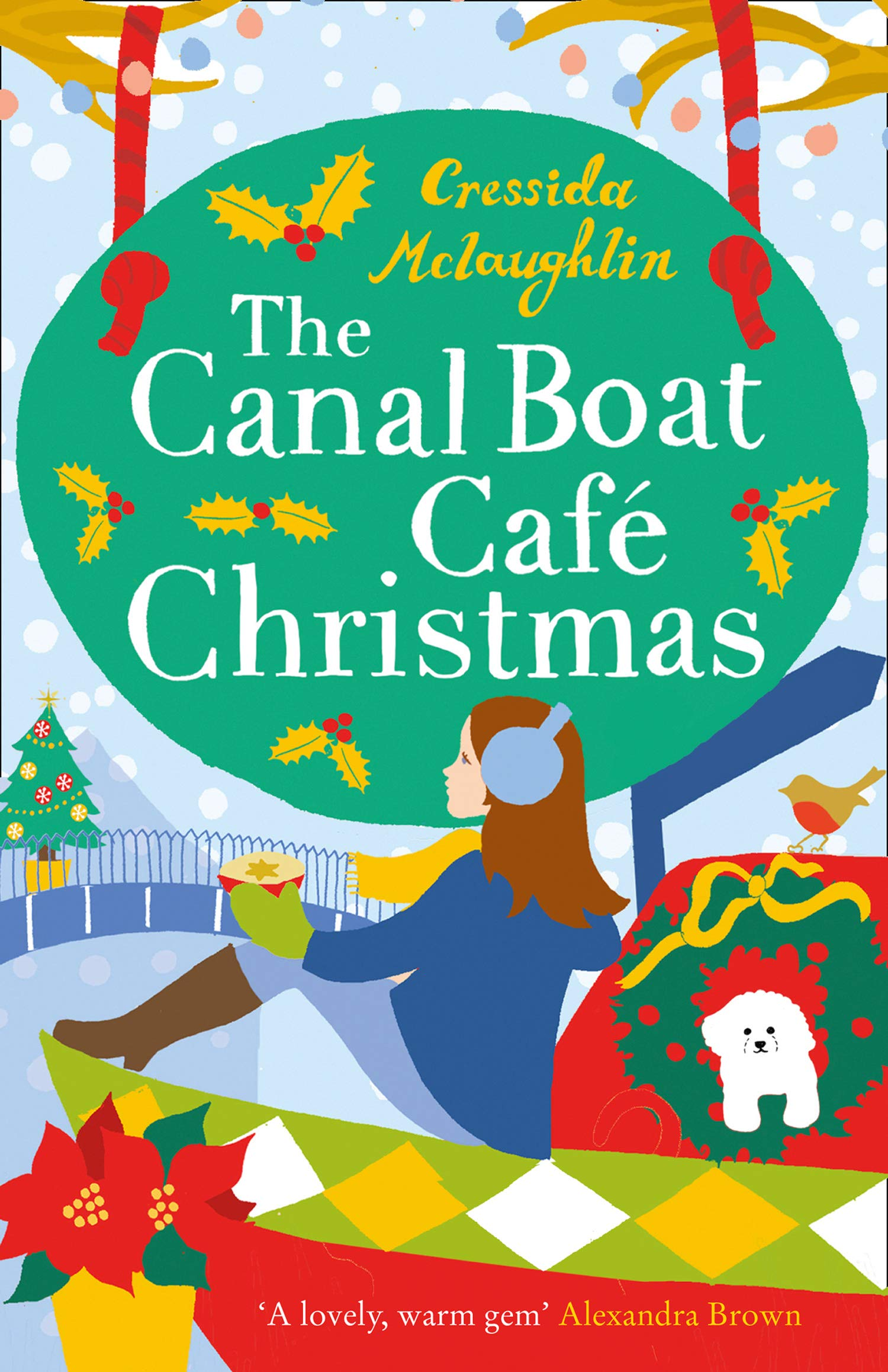 The Canal Boat Café Christmas: the most uplift and escapist book you will read this Christmas 2020