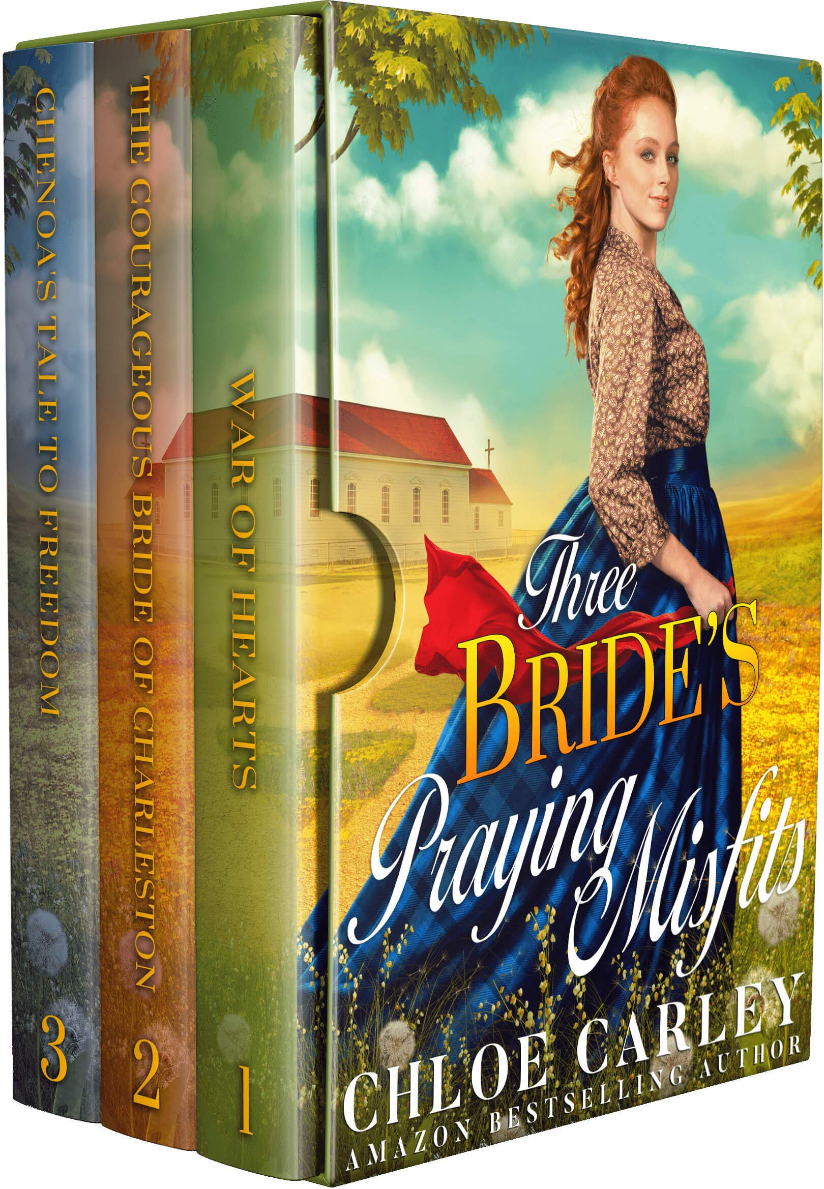 Three Brides' Praying Misfits: A Christian Historical Romance Collection