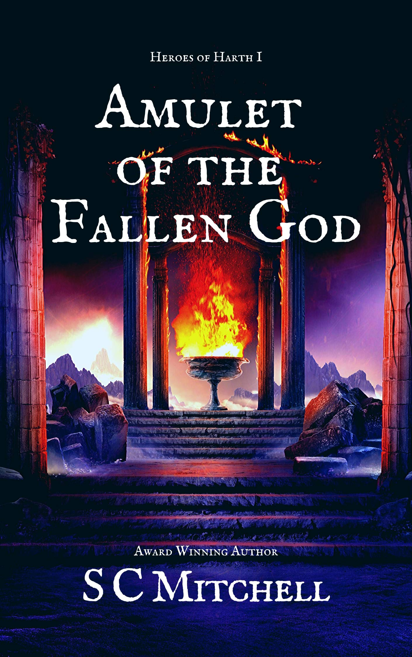 Amulet of the Fallen God (Heroes of Harth Book 1)