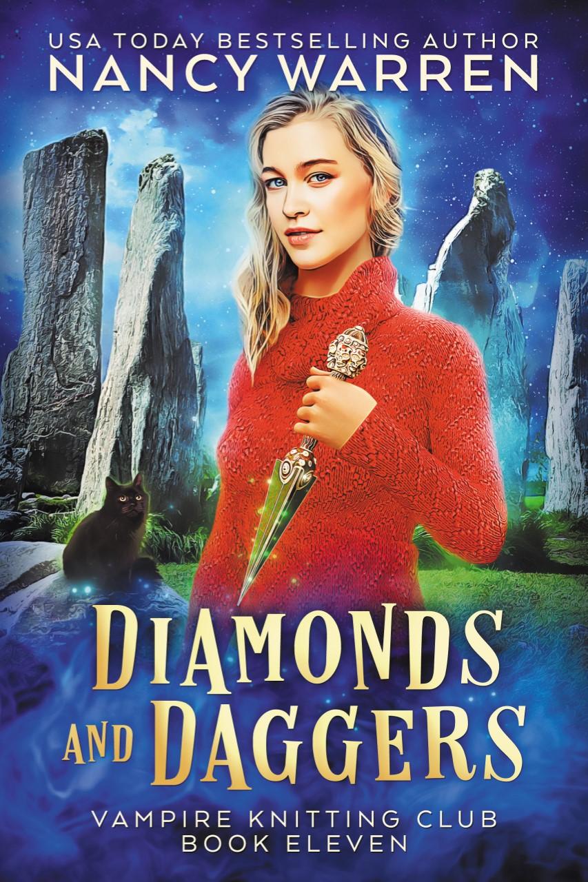 Diamonds and Daggers (Vampire Knitting Club, #11)