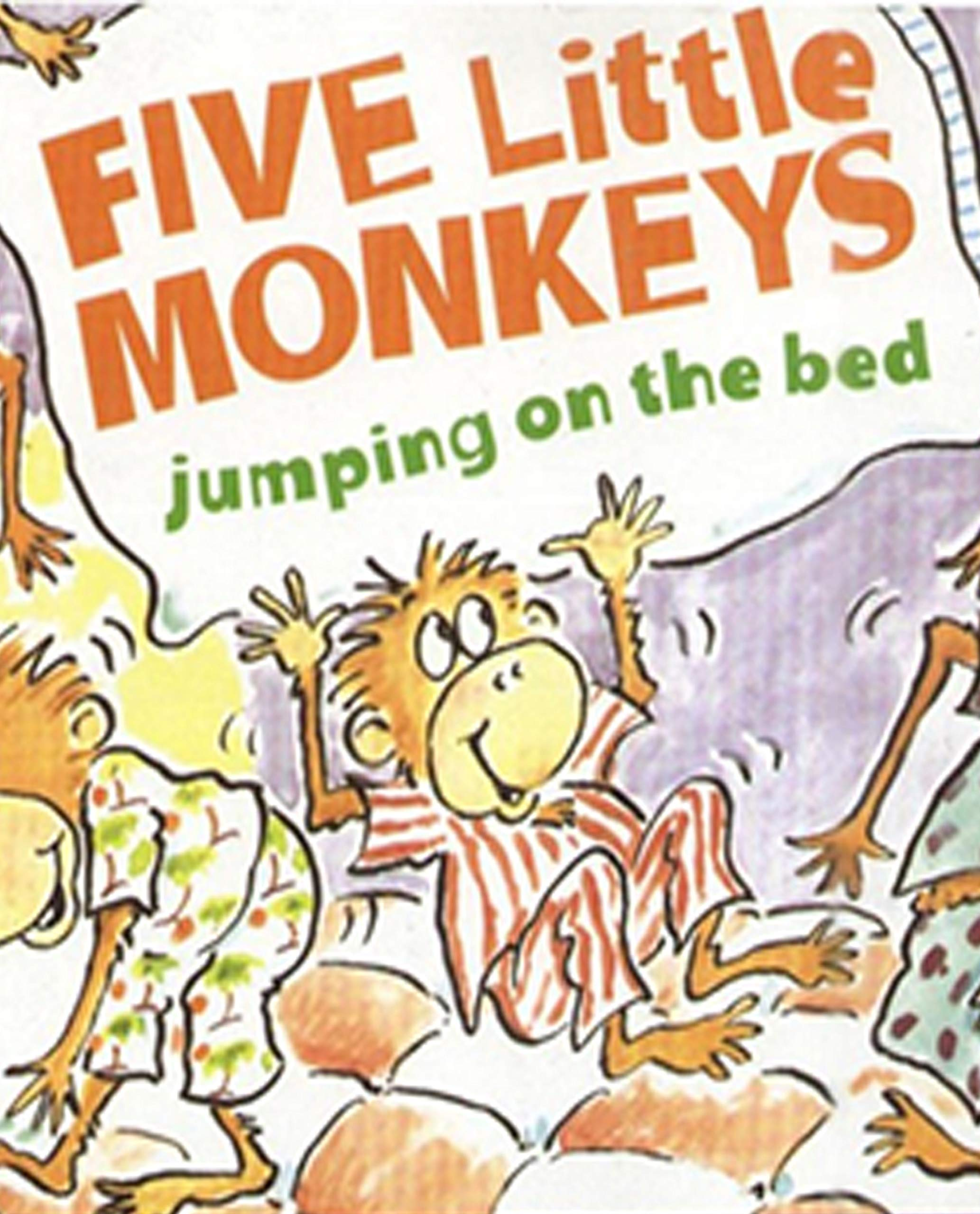 Five Little Monkeys Jumping on the Bed: Recommended for classic children's picture books