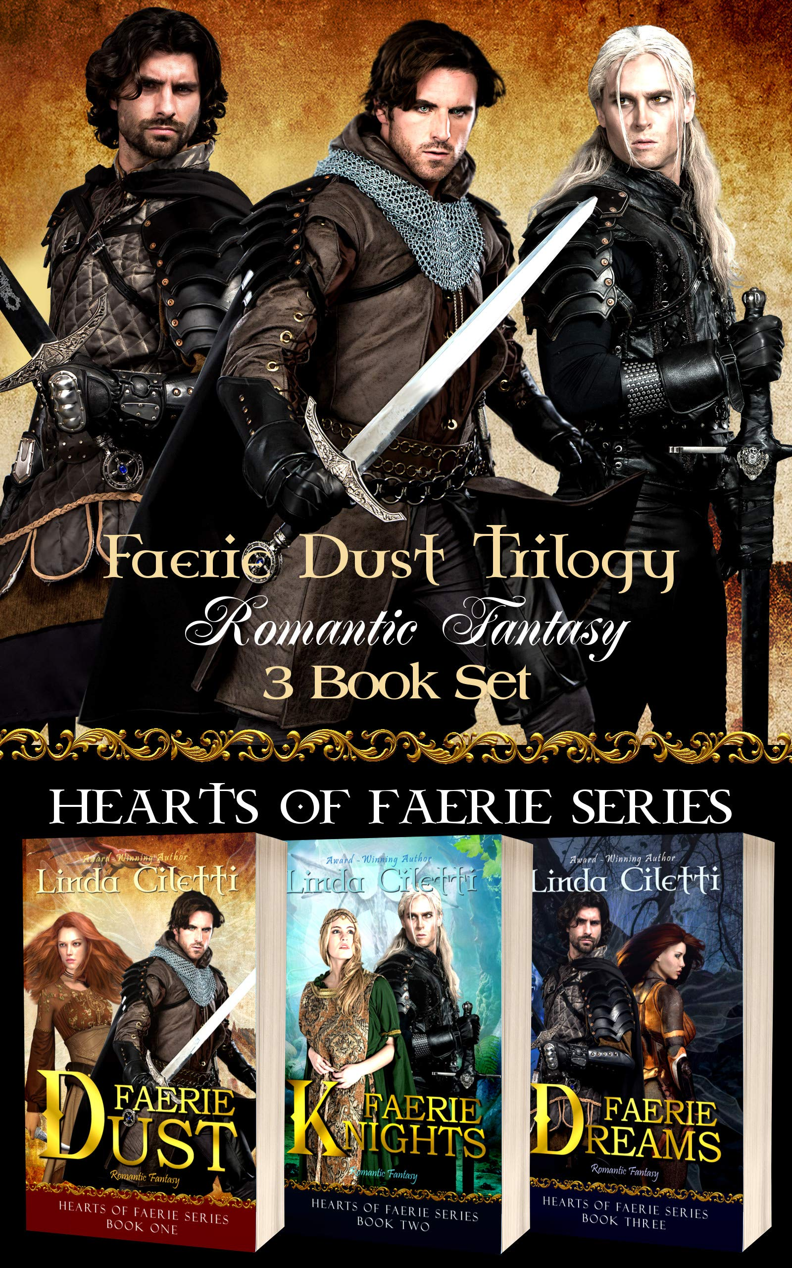 Faerie Dust Trilogy: Fantasy Romance 3 Book Set (Hearts of Faerie Series)