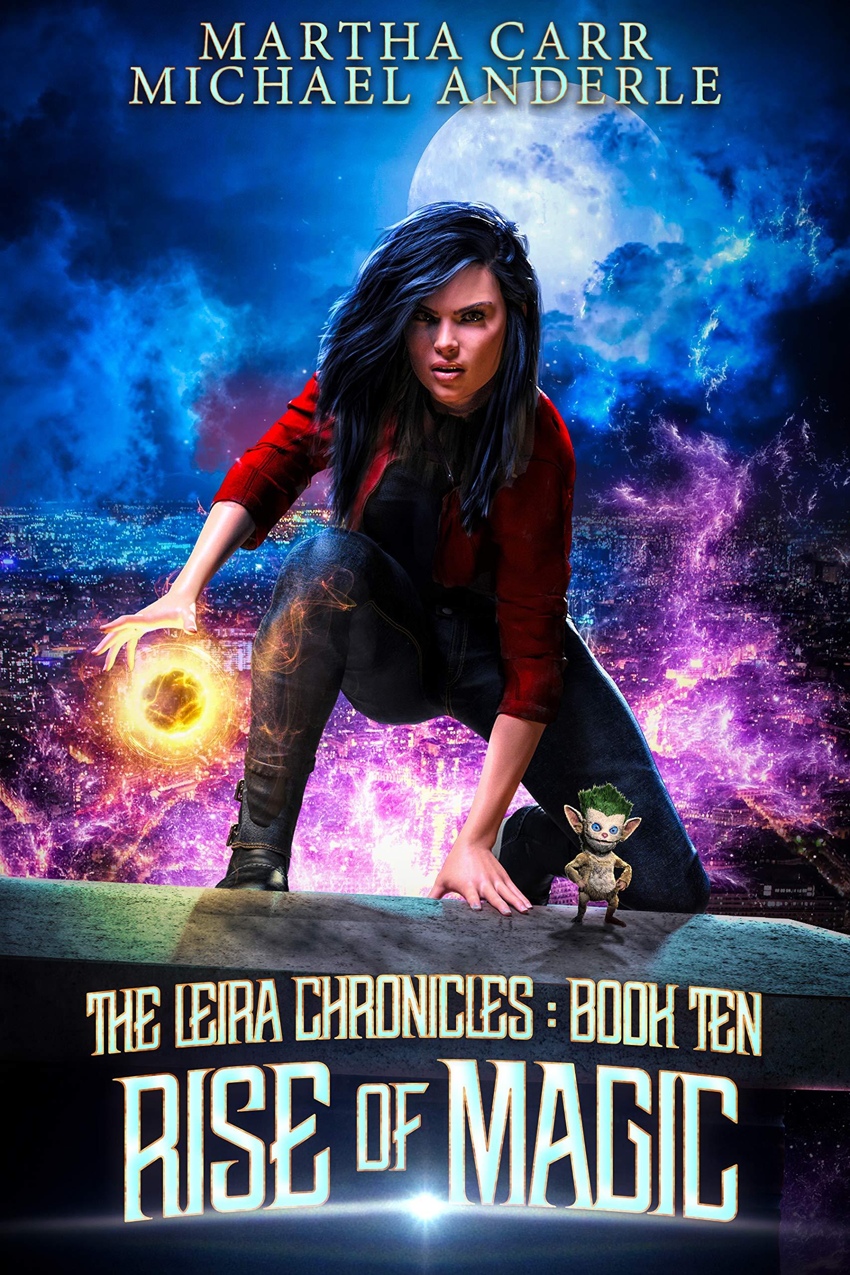 Rise of Magic (The Leira Chronicles, #10)