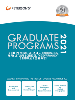 Graduate Programs in the Physical Sciences, Mathematics, Agricultural Sciences, the Environment & Natural Resources 2021