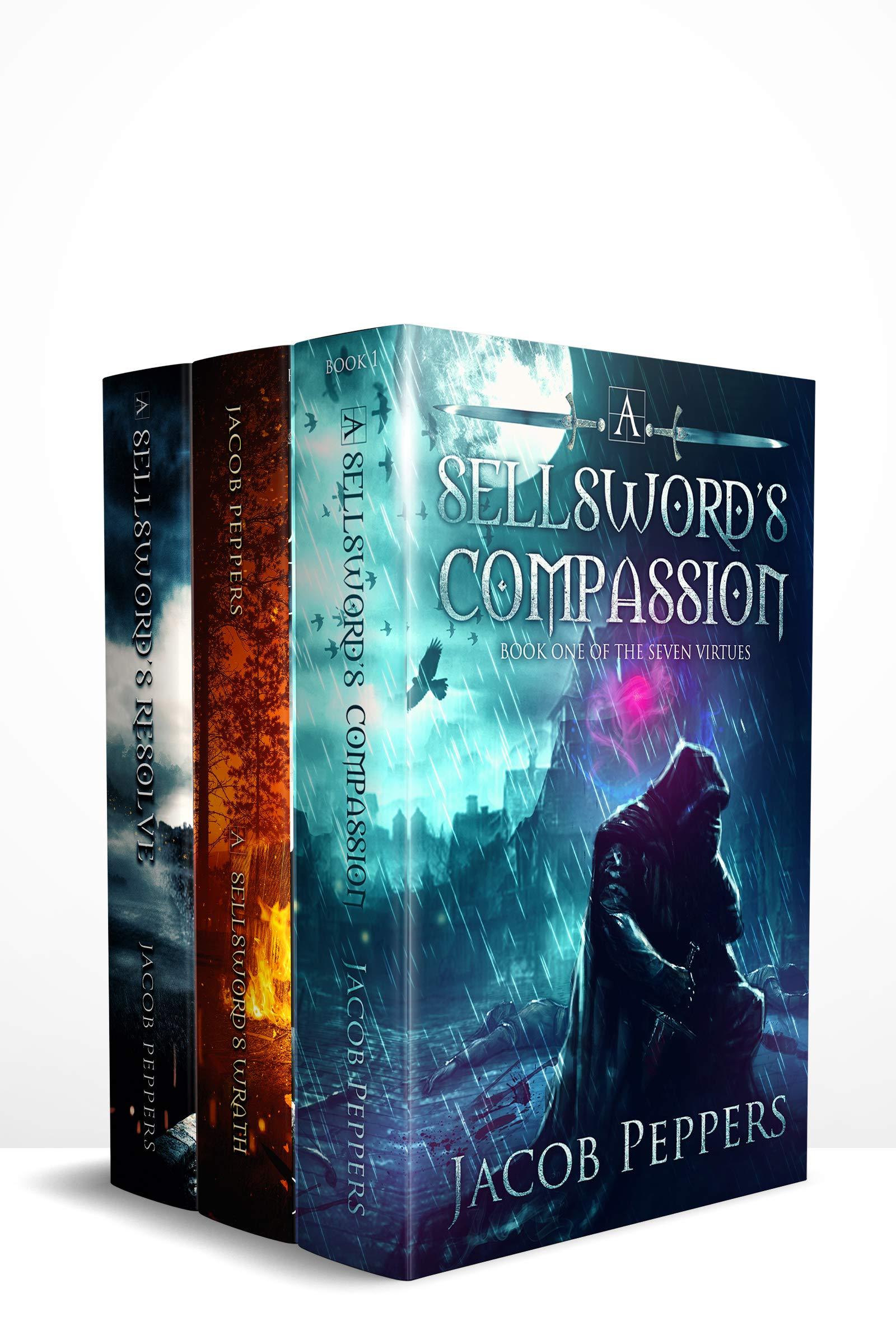 The Seven Virtues Series: Books 1-3: A Grimdark Epic Fantasy Adventure (The Seven Virtues Series Boxset Book 1)