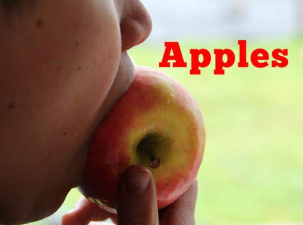 Apple: Recommended for classic children's picture books