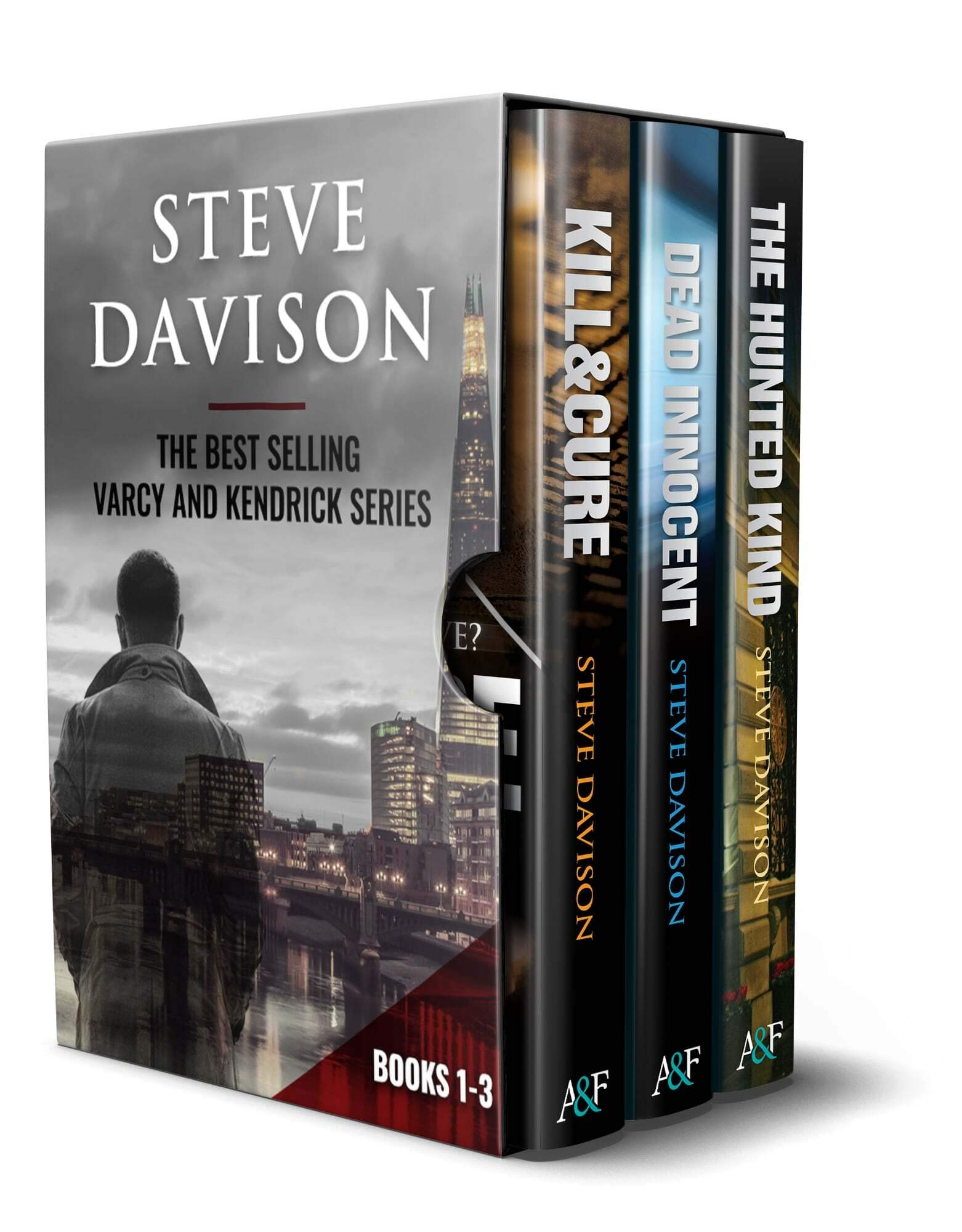 The Varcy and Kendrick Detective Mystery Series: Books 1-3 Kindle Edition: An absolutely gripping crime mystery series with unexpected twists (Box Set: Books 1-3)