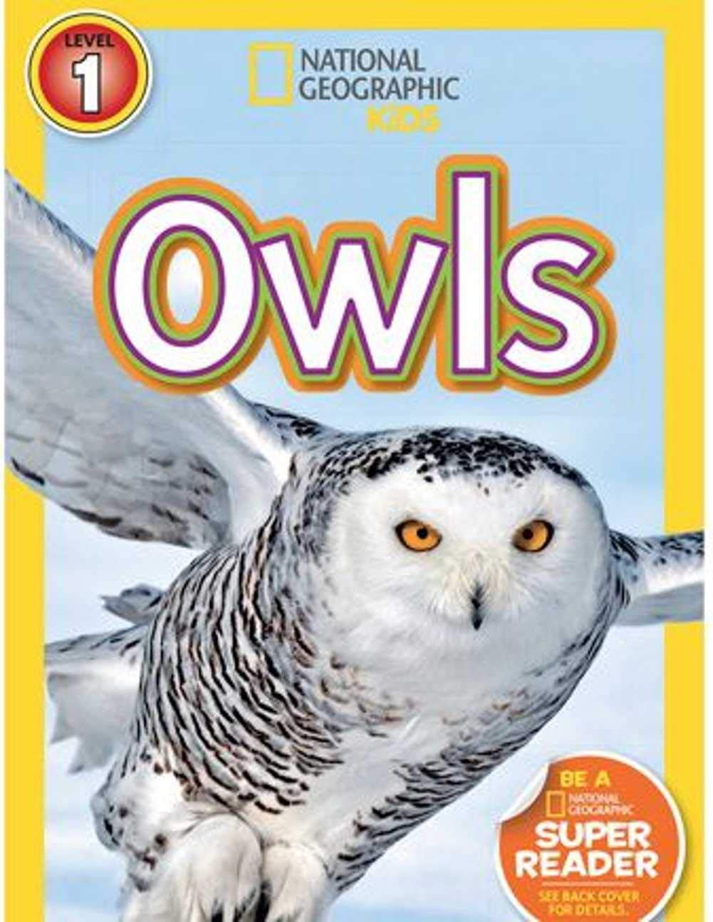 National Geographic Readers Owls: children's books ages 1-3