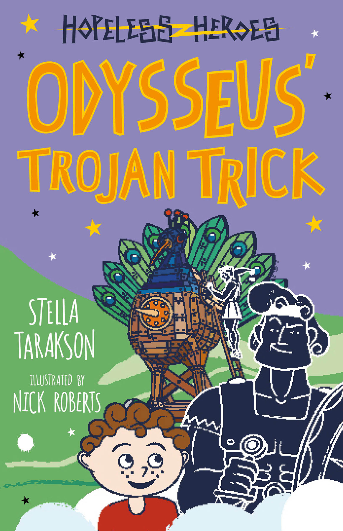 Odysseus' Trojan Trick (Hopeless Heroes, #8)