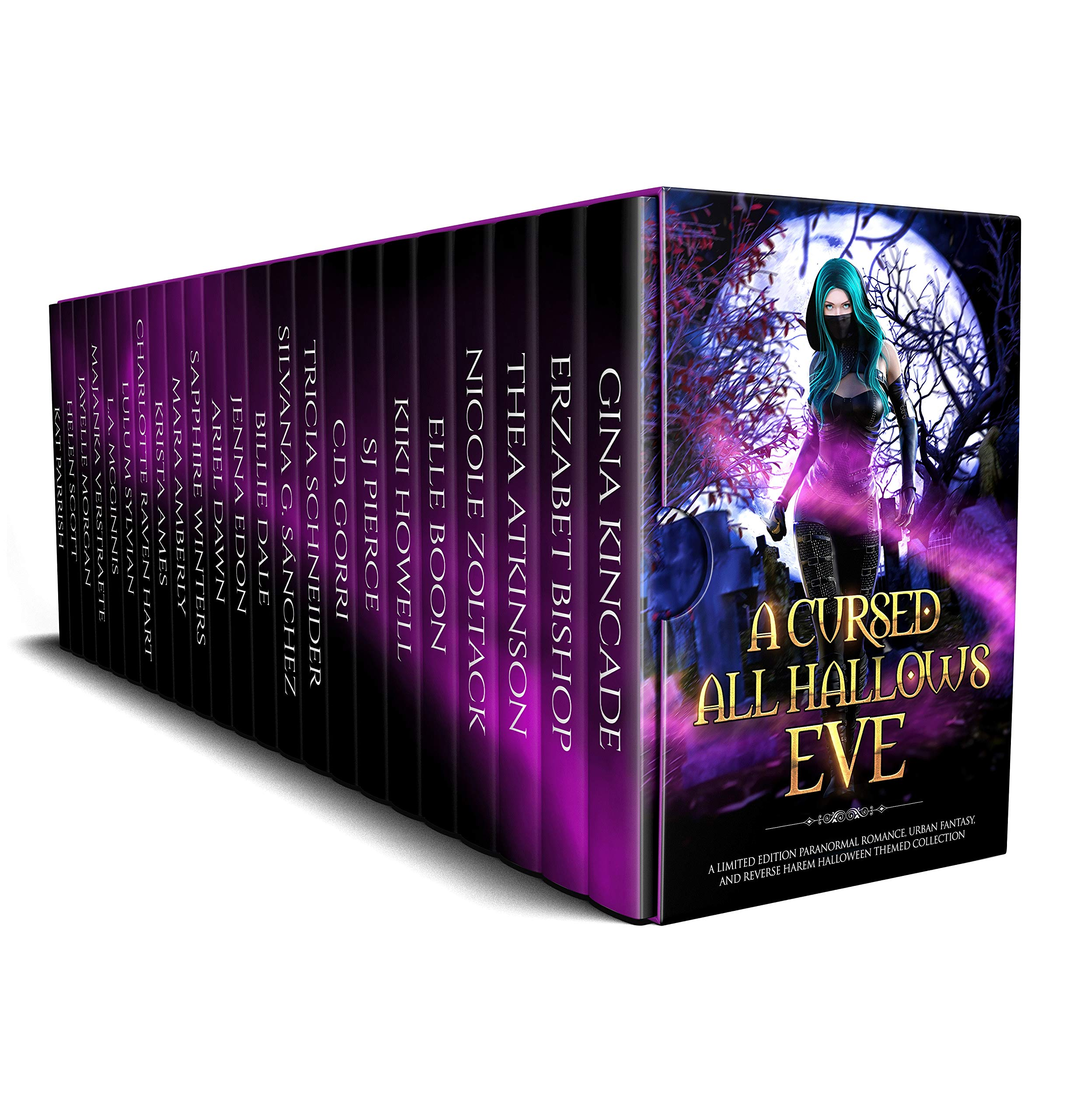A Cursed All Hallows' Eve: A Limited Edition Paranormal Romance, Urban Fantasy, and Reverse Harem Halloween Themed Collection