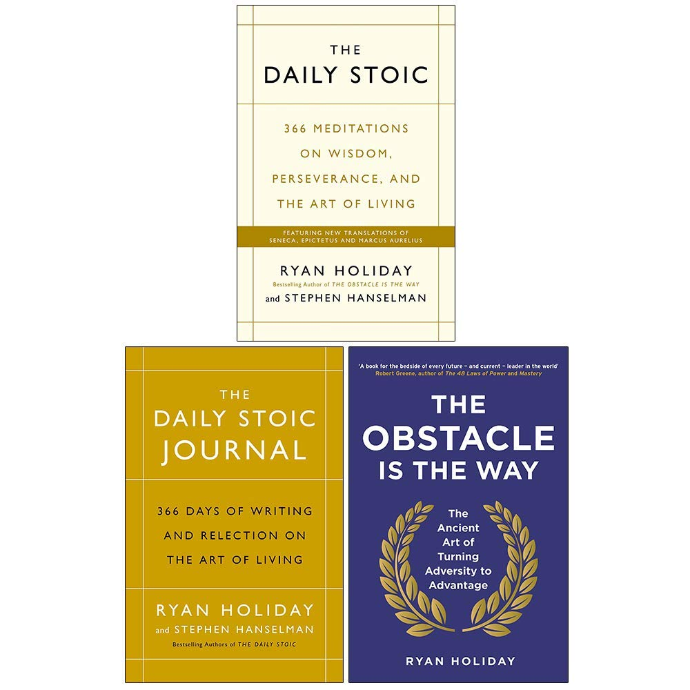 Ryan Holiday Collection 3 Books Set