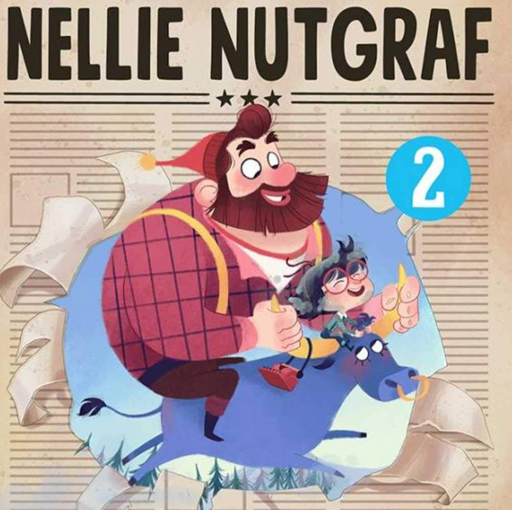 Nellie Nutgraf Book 2 A Hot Story: Recommended for classic children's picture books