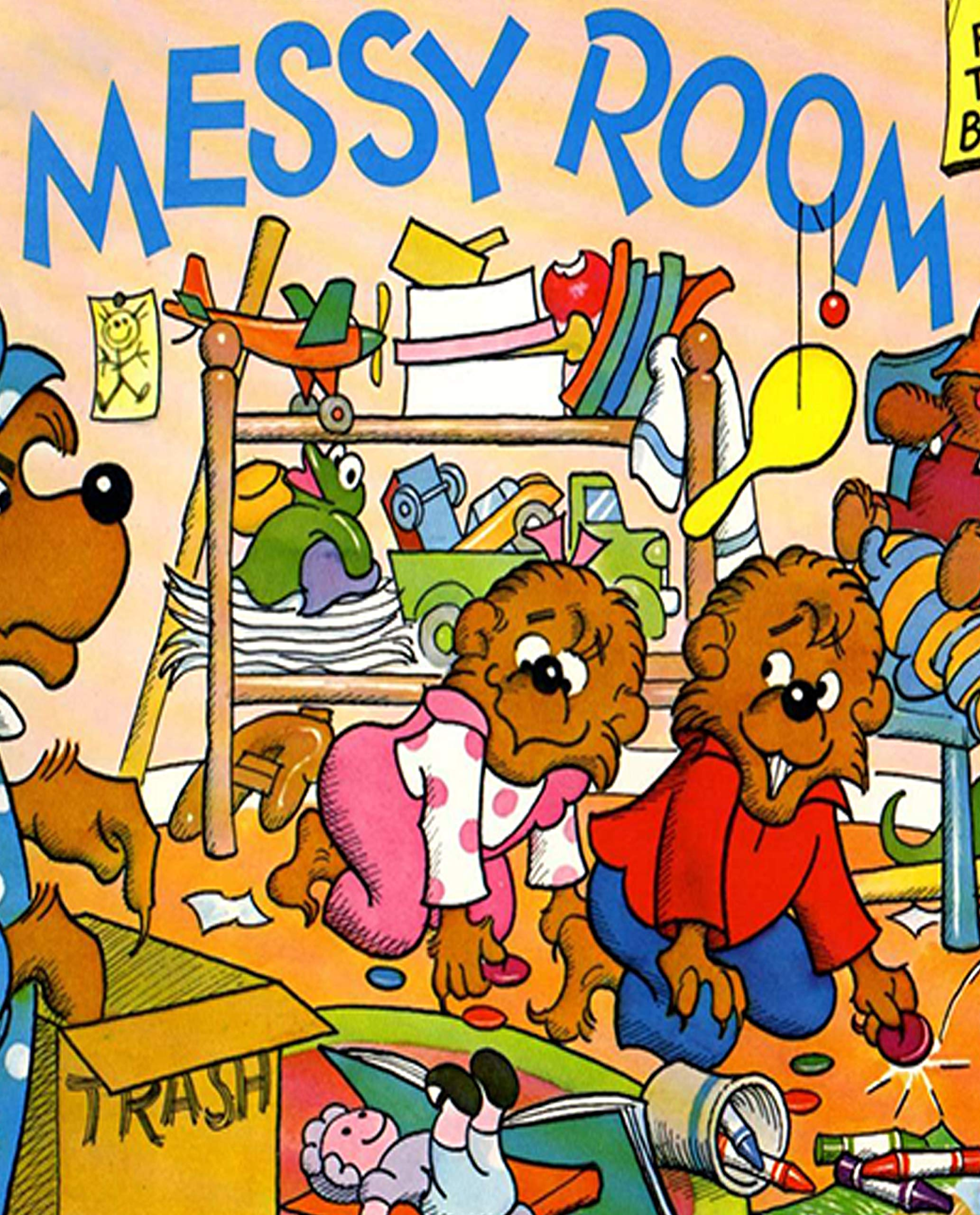 The Berenstain Bears and the Messy Room: Recommended for classic children's picture books