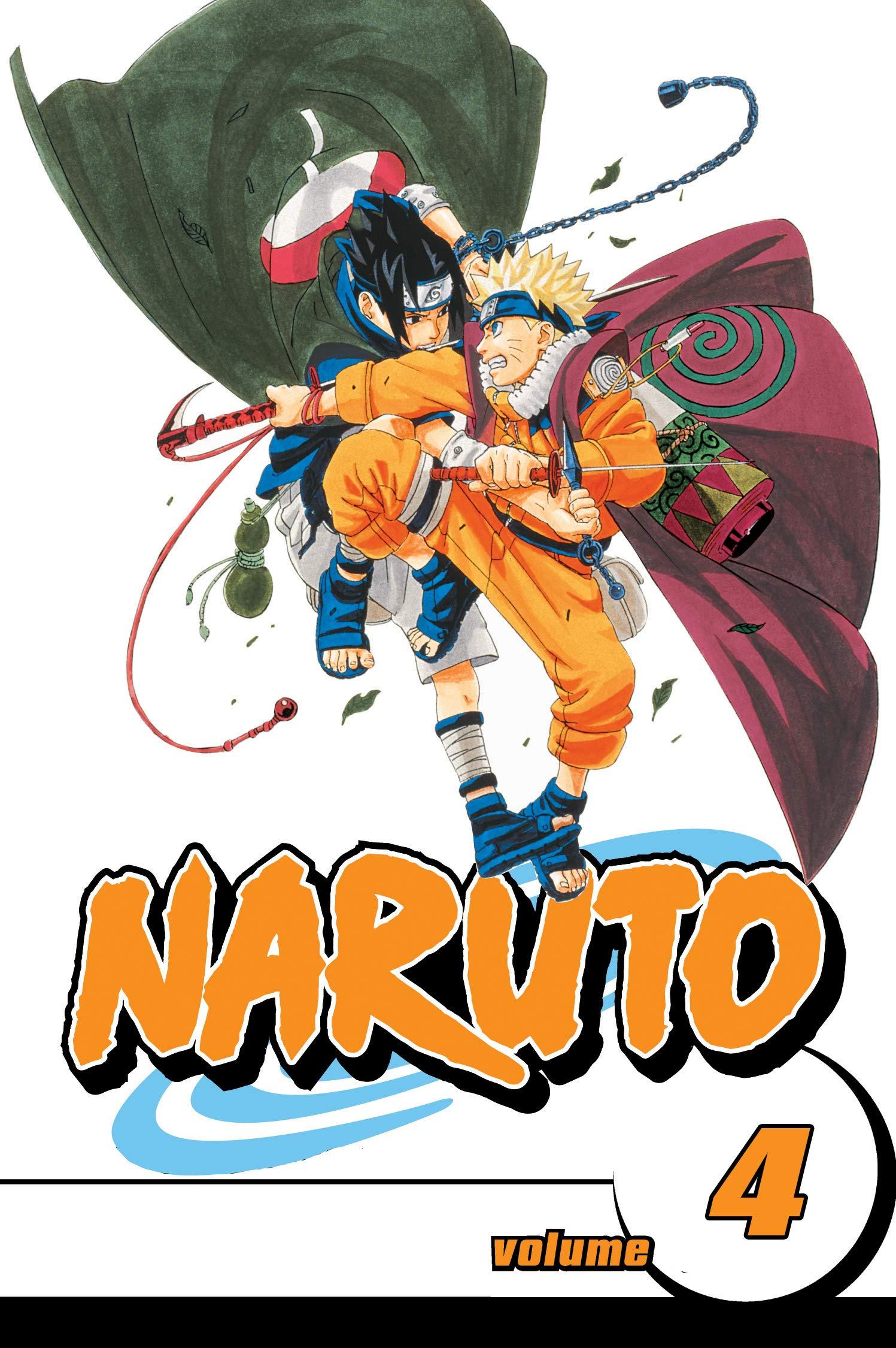 Best Manga: Naruto Uzumaki Volume 4