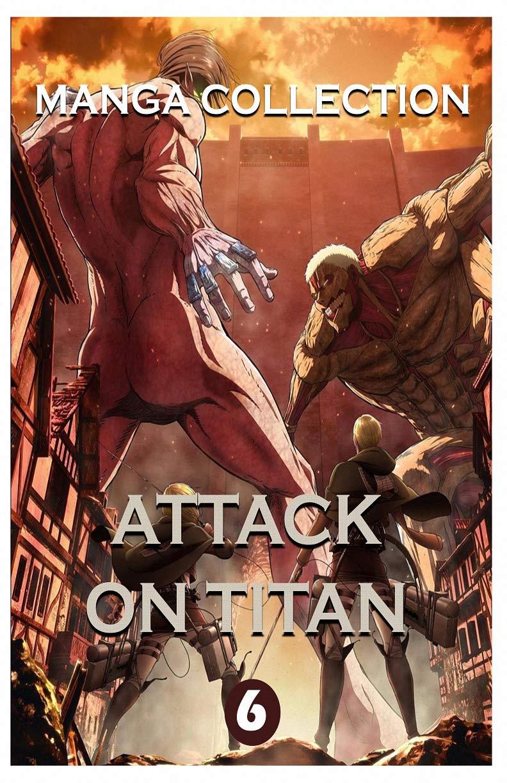 Manga Horror Collections: Attack On Titan Best Horror Fantasy Manga Vol 6