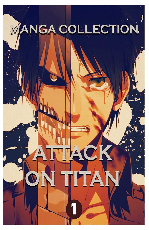 Manga Horror Collections: Attack On Titan Best Horror Fantasy Manga Vol 1