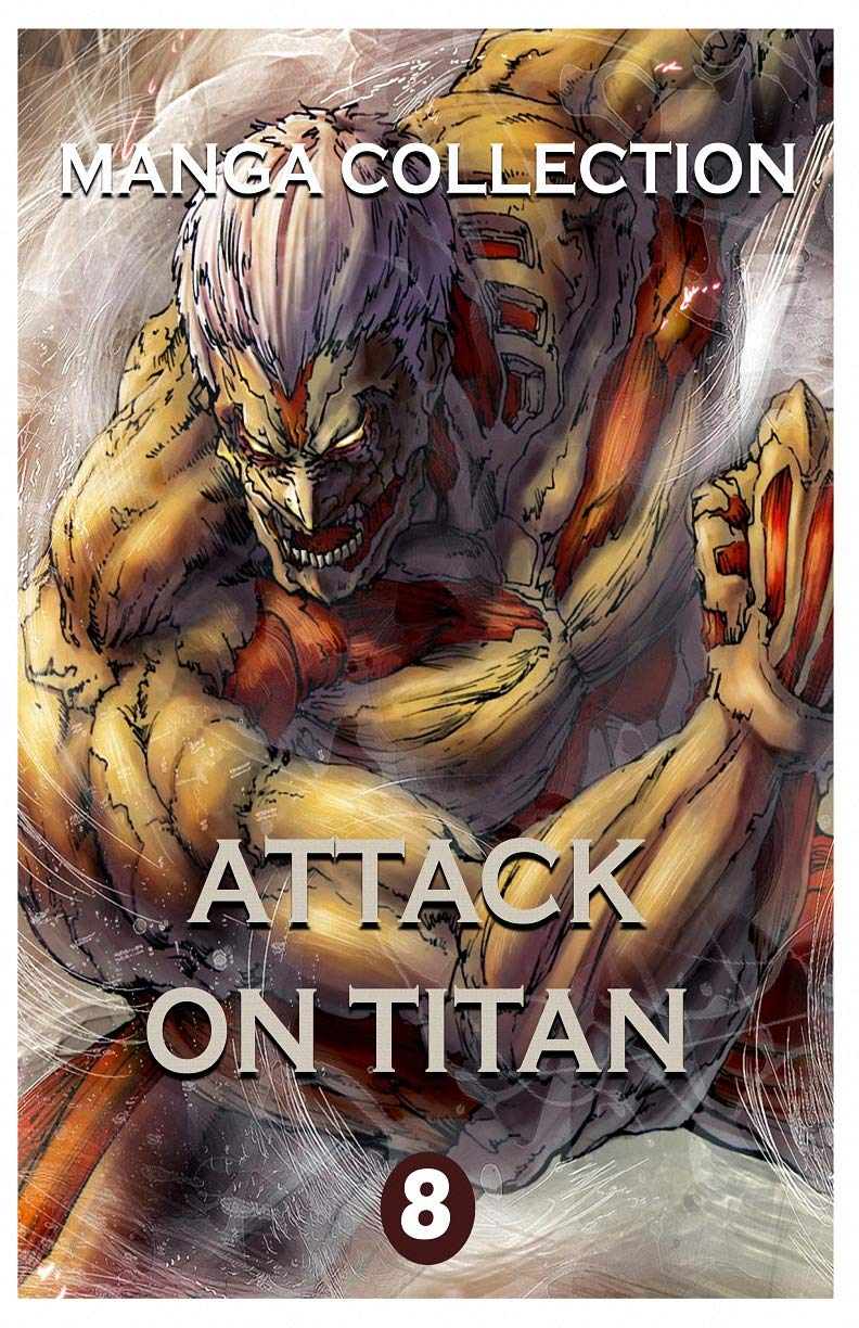 Manga Horror Collections: Attack On Titan Best Horror Fantasy Manga Vol 8