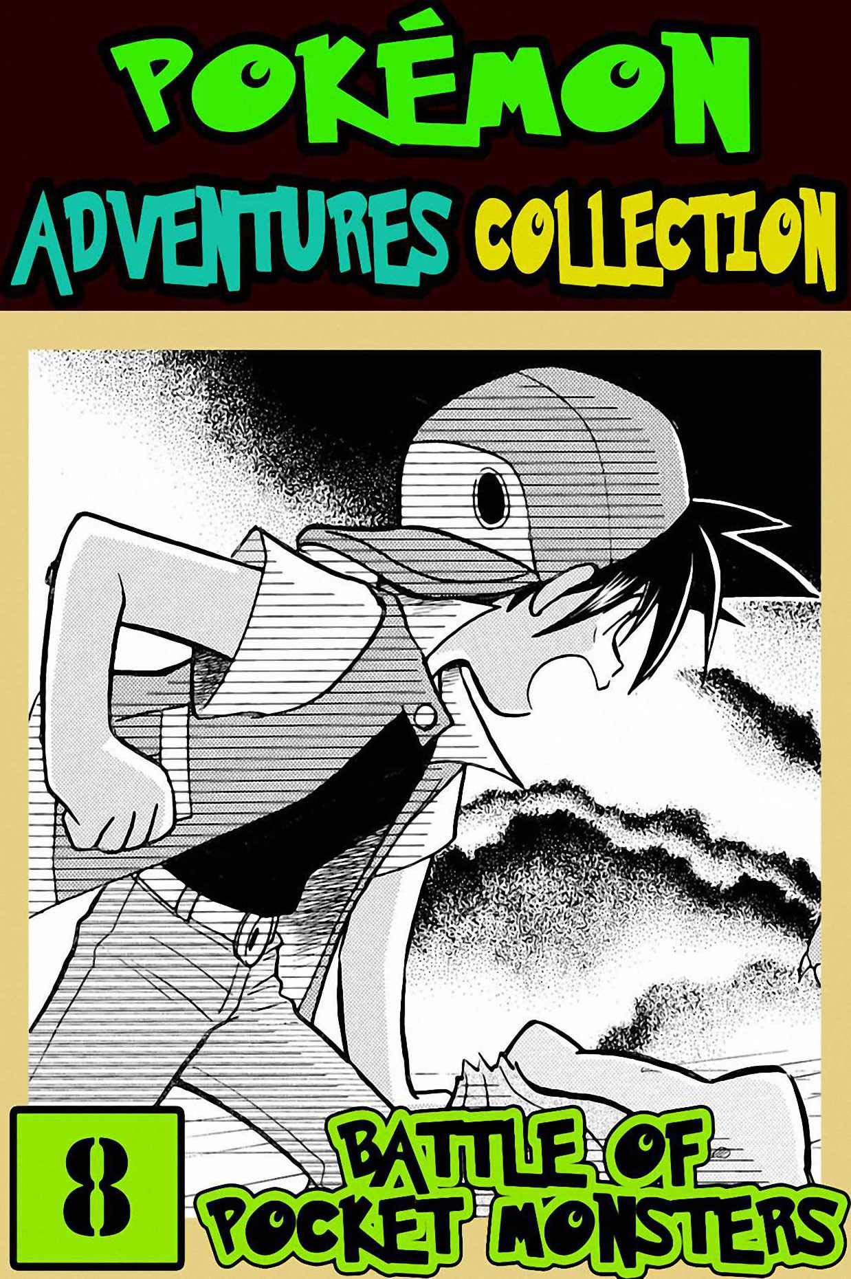 Battle Pocket: Collection 8 - Pokemon Manga Adventures Graphic Novel For Boys, Girls, Kids
