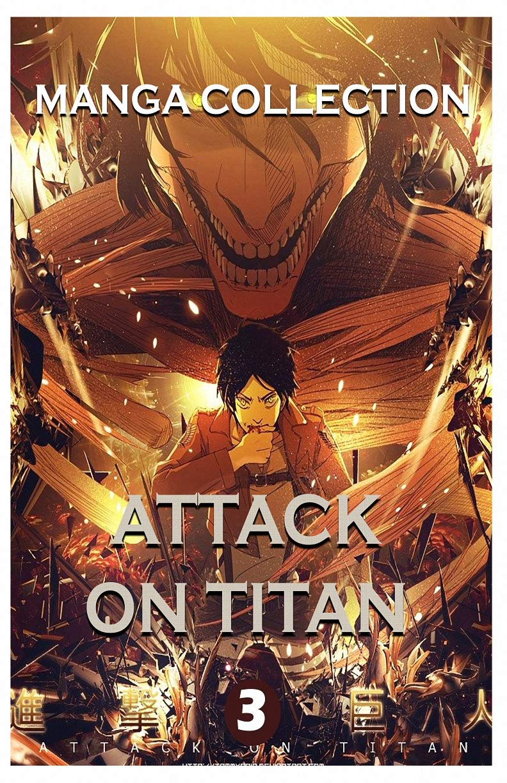 Manga Horror Collections: Attack On Titan Best Horror Fantasy Manga Vol 3