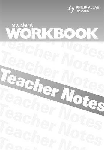 AQA GCSE English Literature: Workbook, Teacher's Notes Unit 1: Exploring Modern Texts