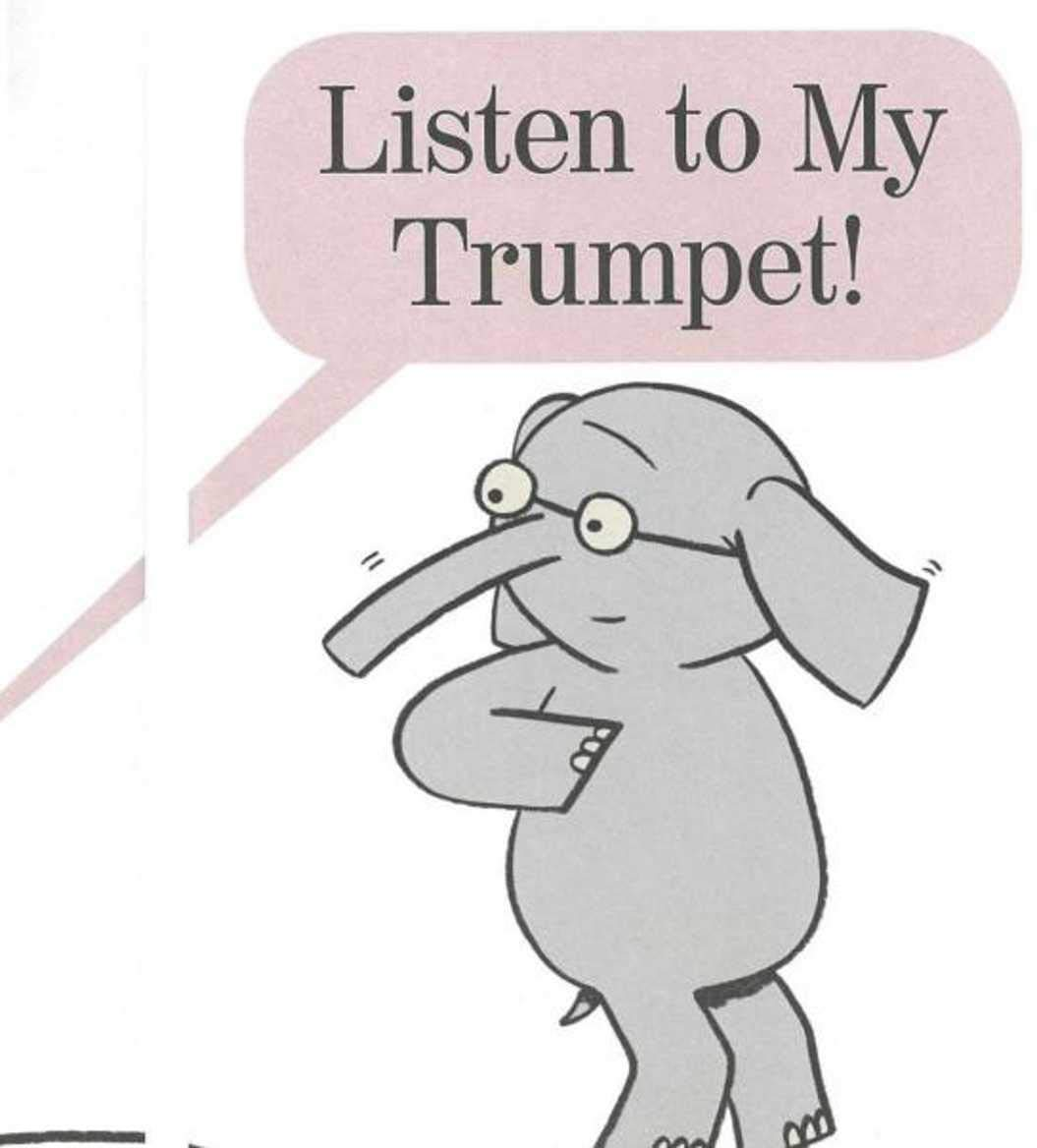 Listen to My Trumpet: Recommended for classic children s picture books