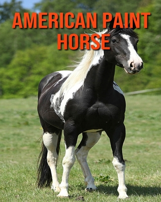 American Paint Horse: Children Book of Fun Facts & Amazing Photos