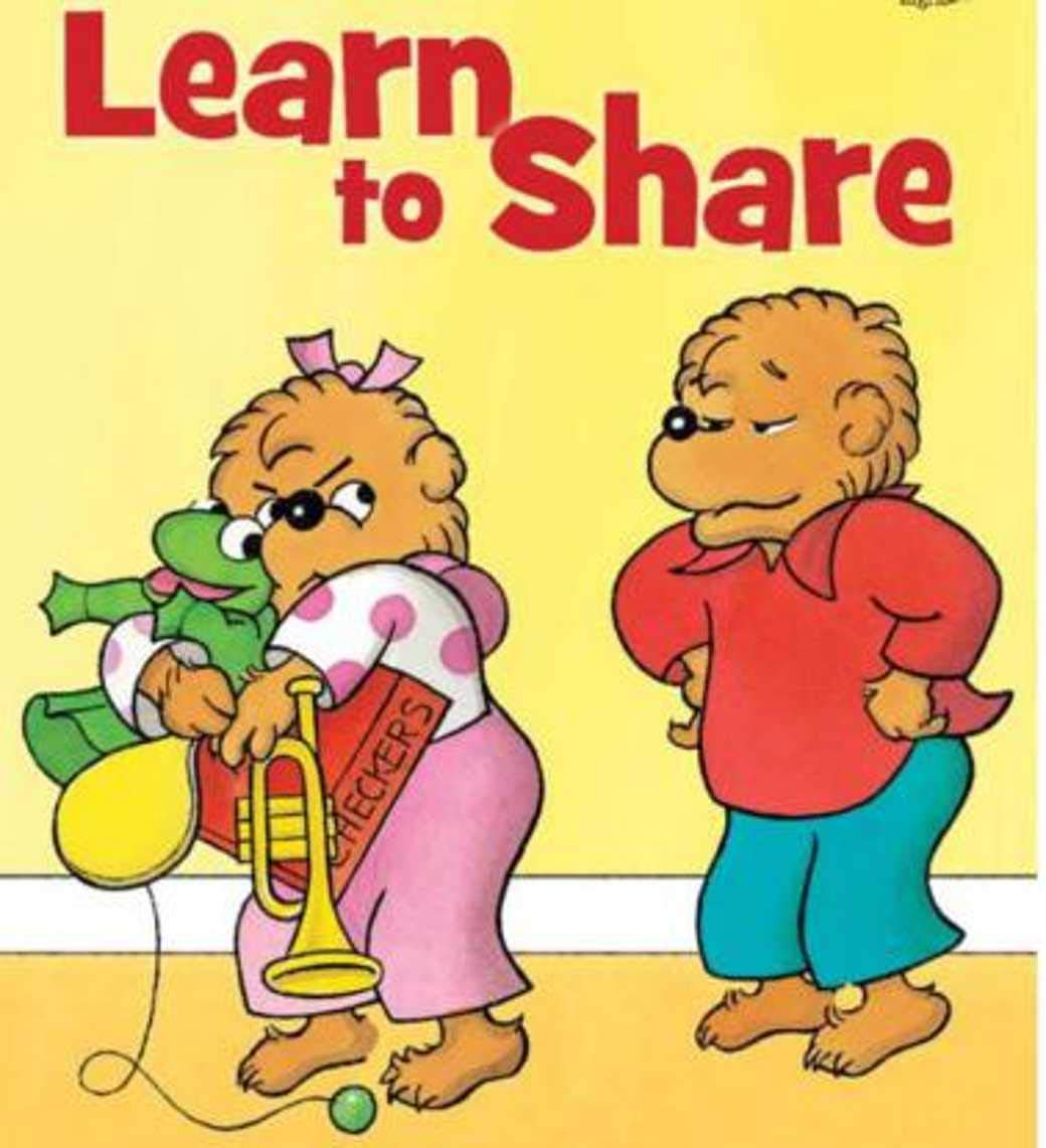Berenstain Bears Learn to Share: kids books ages 3-5