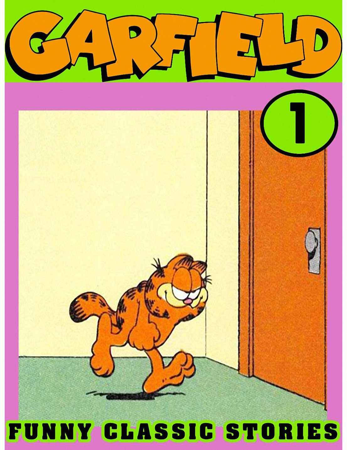 Funny Classic: Collection 1 - Garfield Comic Strips - Lazy Fat Cat Cartoon