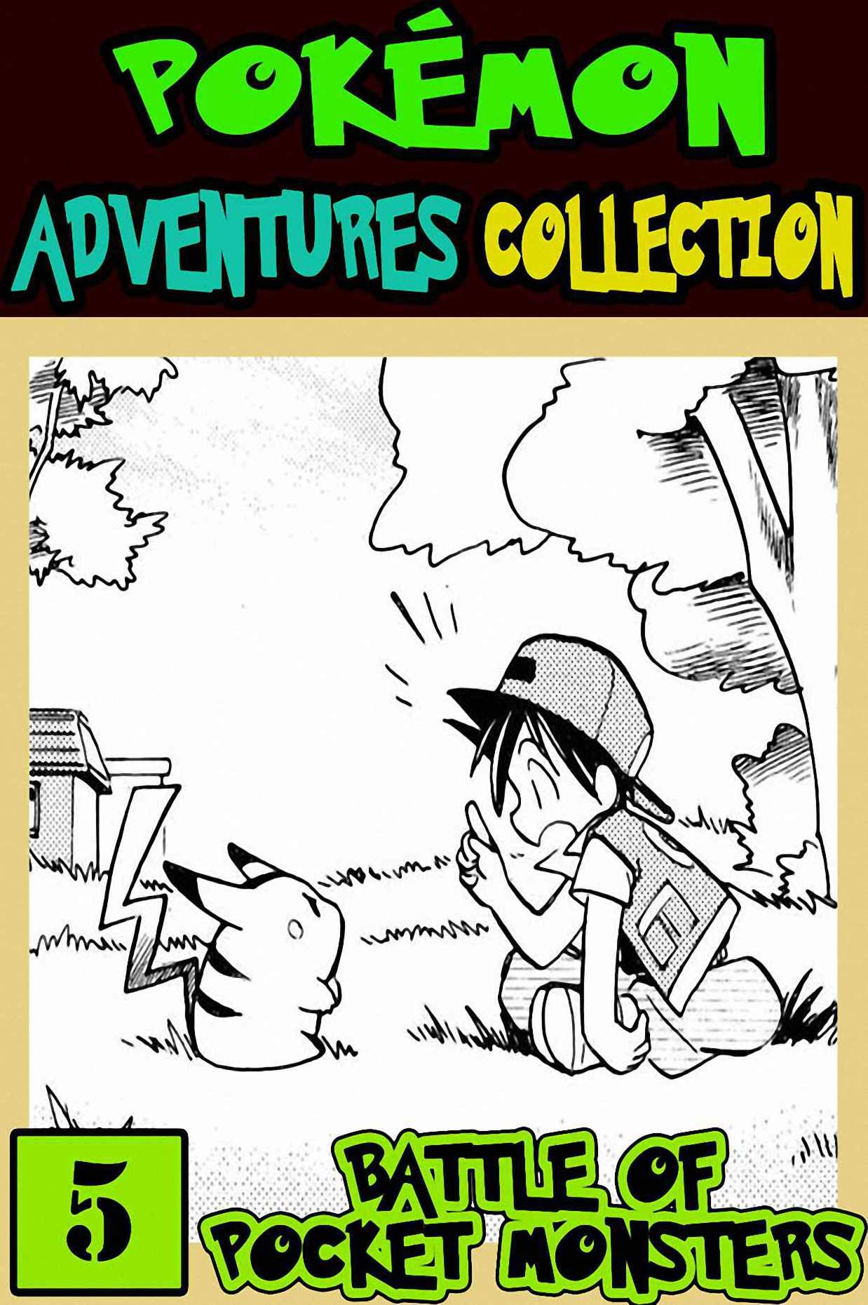 Battle Pocket: Collection 5 - Pokemon Manga Adventures Graphic Novel For Boys, Girls, Kids