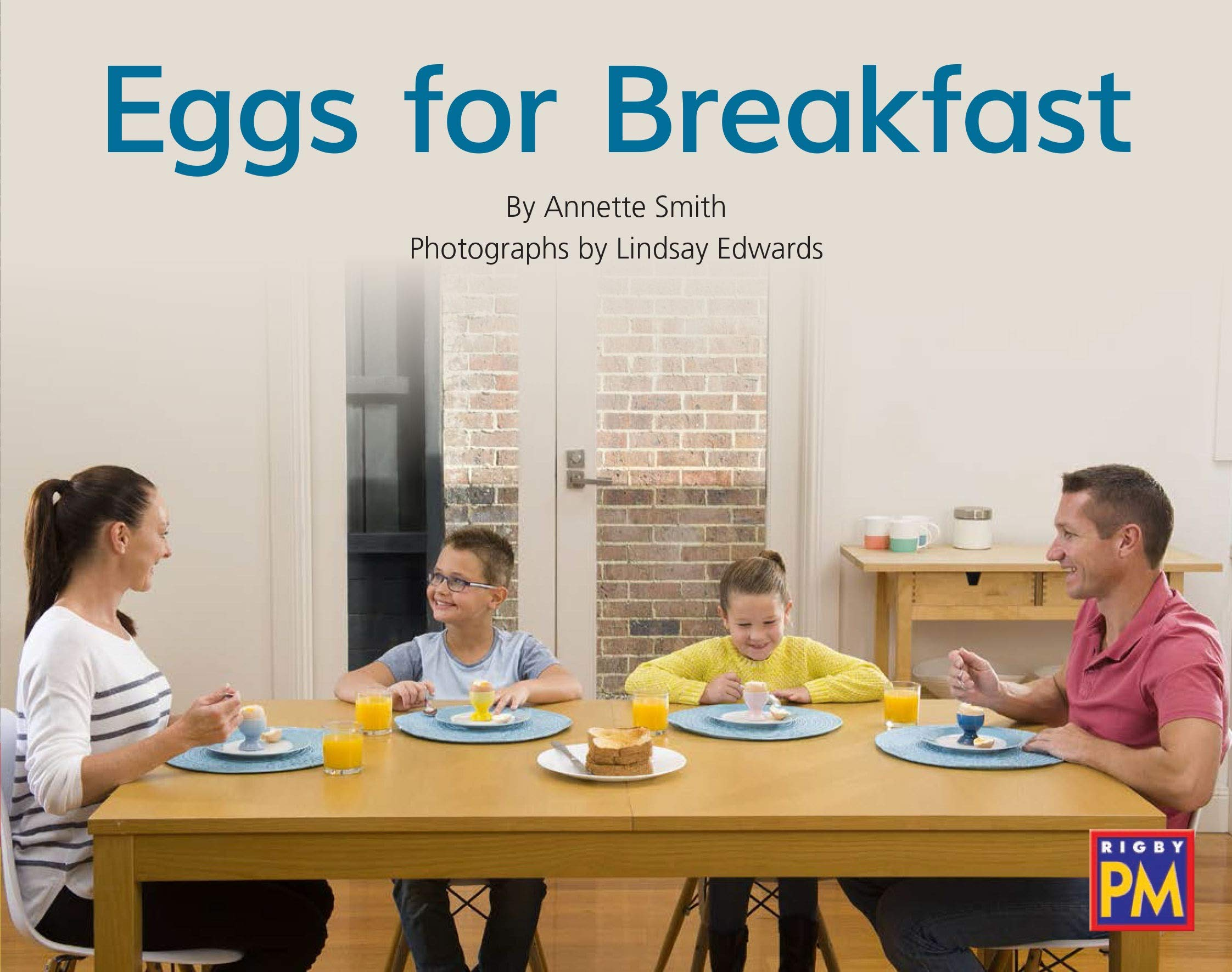 Rigby PM Collection: Bookroom Package Red Non Fiction Level 5/6 Grade 1 Eggs for Breakfast