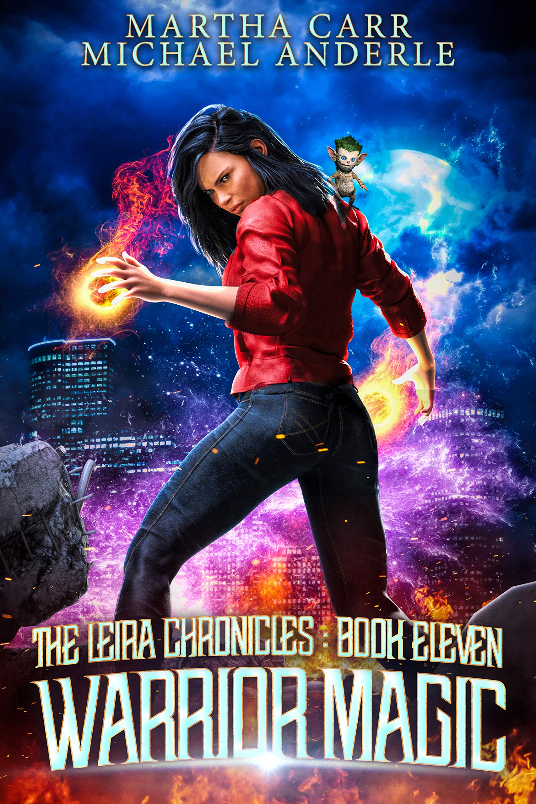 Warrior Magic (The Leira Chronicles, #11)
