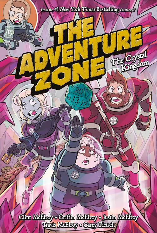 The Crystal Kingdom (The Adventure Zone Graphic Novels, #4)