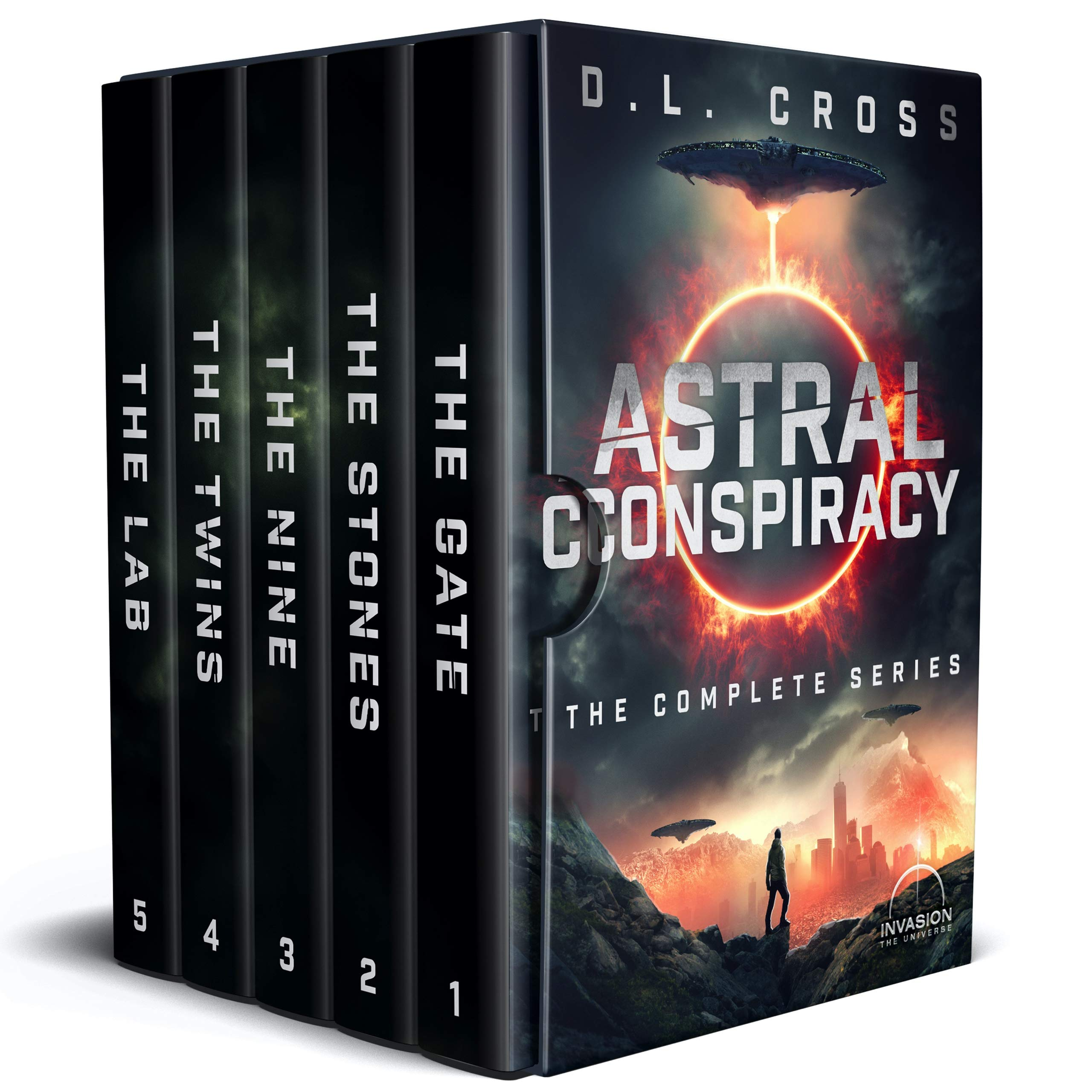 Astral Conspiracy: The Complete Series (An Alien Invasion Science Fiction Series)