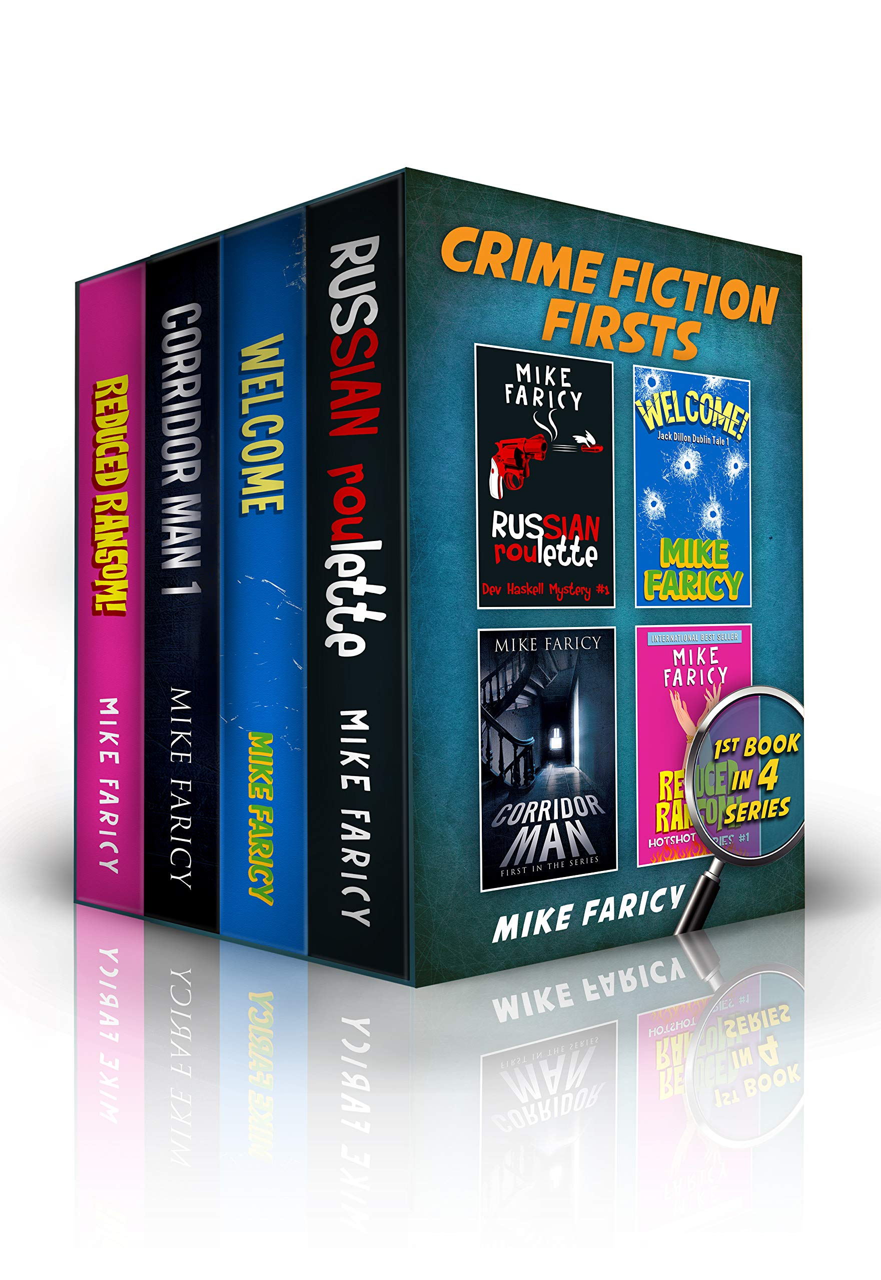 Crime Fiction Firsts: The First Book in FOUR Crime Fiction Series