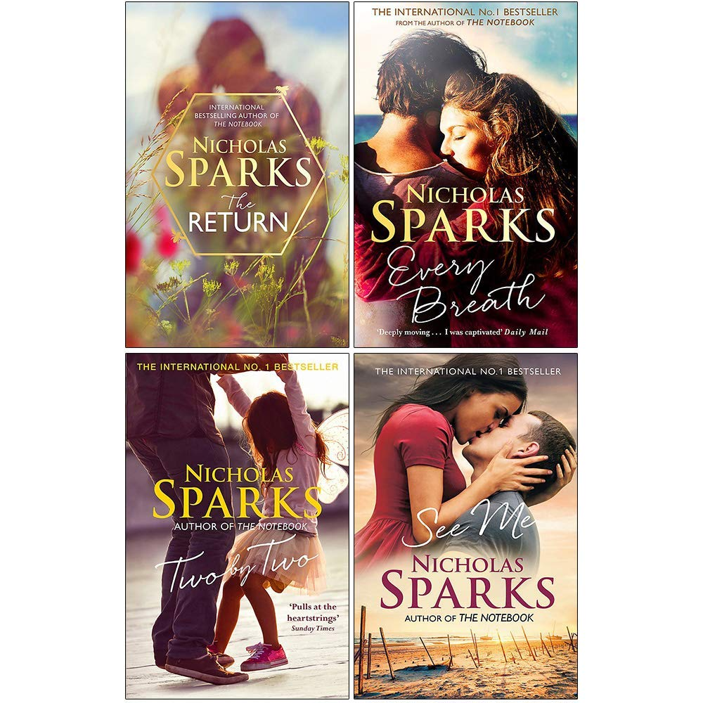 Nicholas Sparks Collection 4 Books Set
