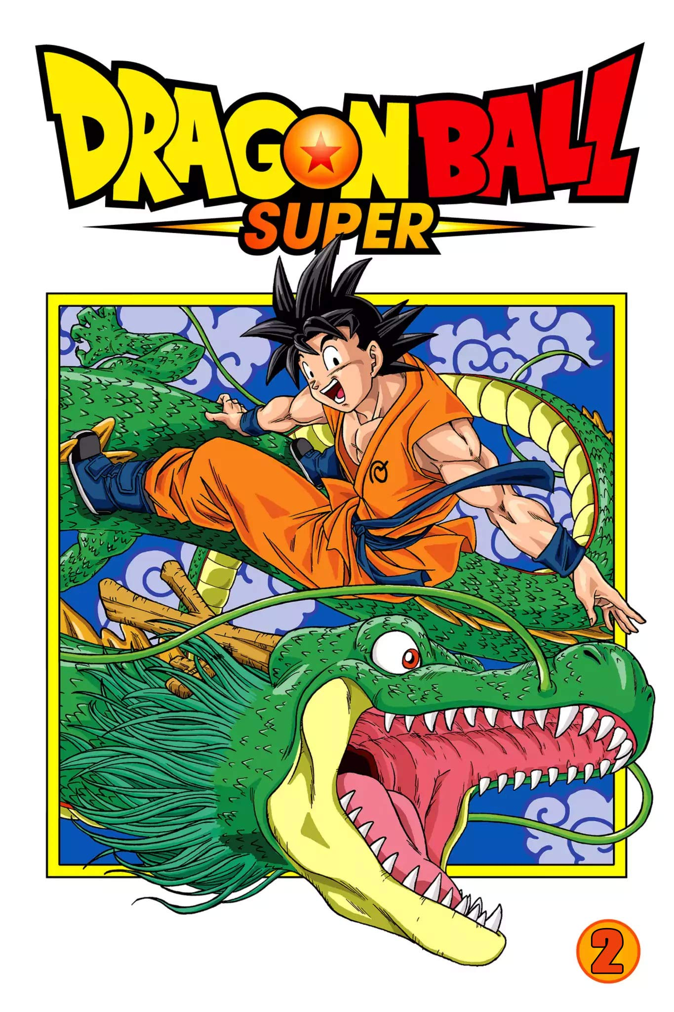 Fantasy Manga: Dragon Ball Super volume 2