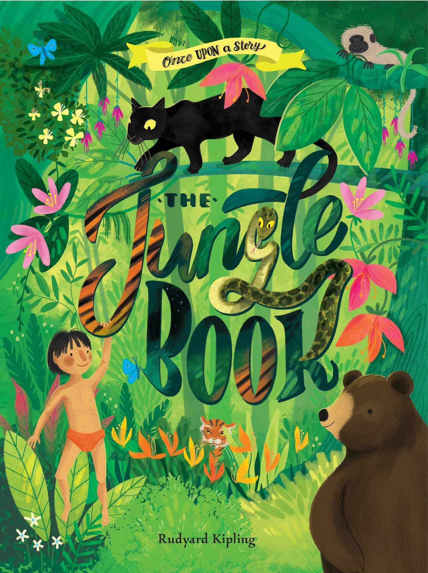 The Jungle Book : ANNOTATED AND ILLUSTRATED