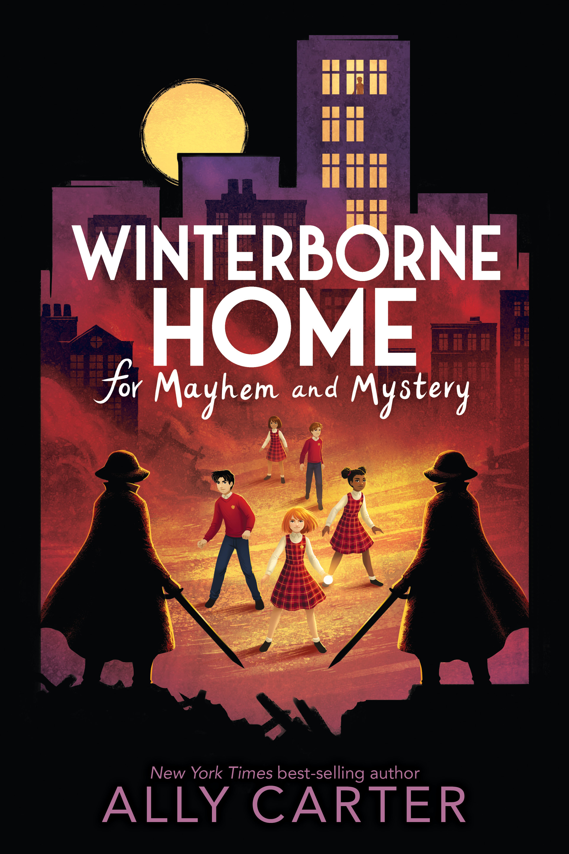 Winterborne Home for Mayhem and Mystery (Winterborne Home for Vengeance and Valor, #2)