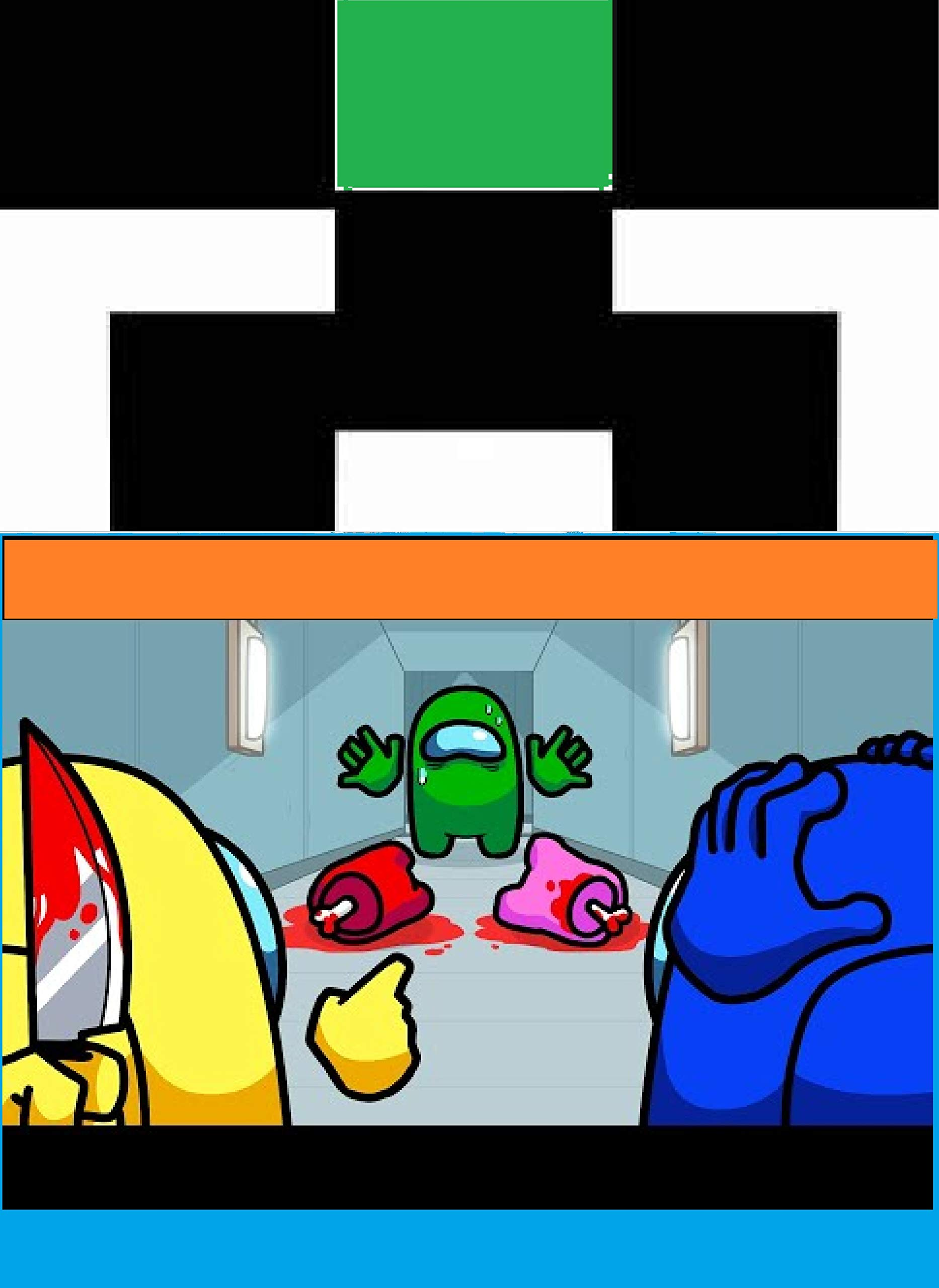 Among Us Logic 2 - Cartoon FUN STORY - : A Christmas Gaming Experiences and Comic gift Book, graphic novels, Build Ideas, Starter Base, Survival Building, Creative Builder, building guide, building