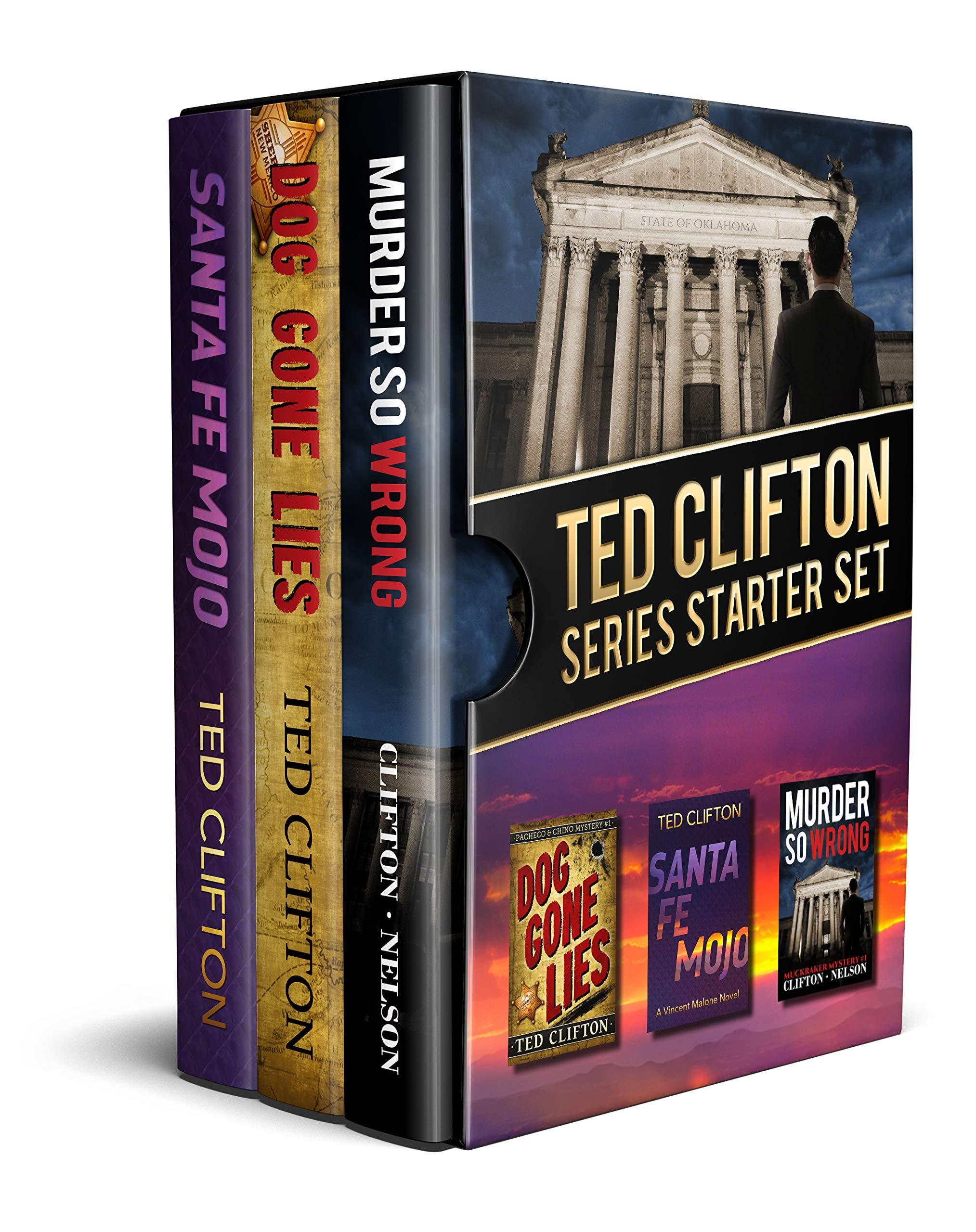 Ted Clifton Series Starter Set: Santa Fe Mojo, Dog Gone Lies, Murder So Wrong