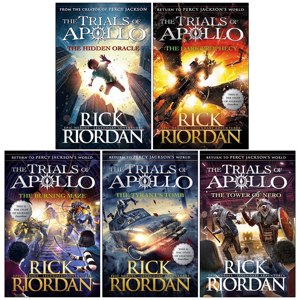 Trials of Apollo Series Rick Riordan Collection 5 Books Set