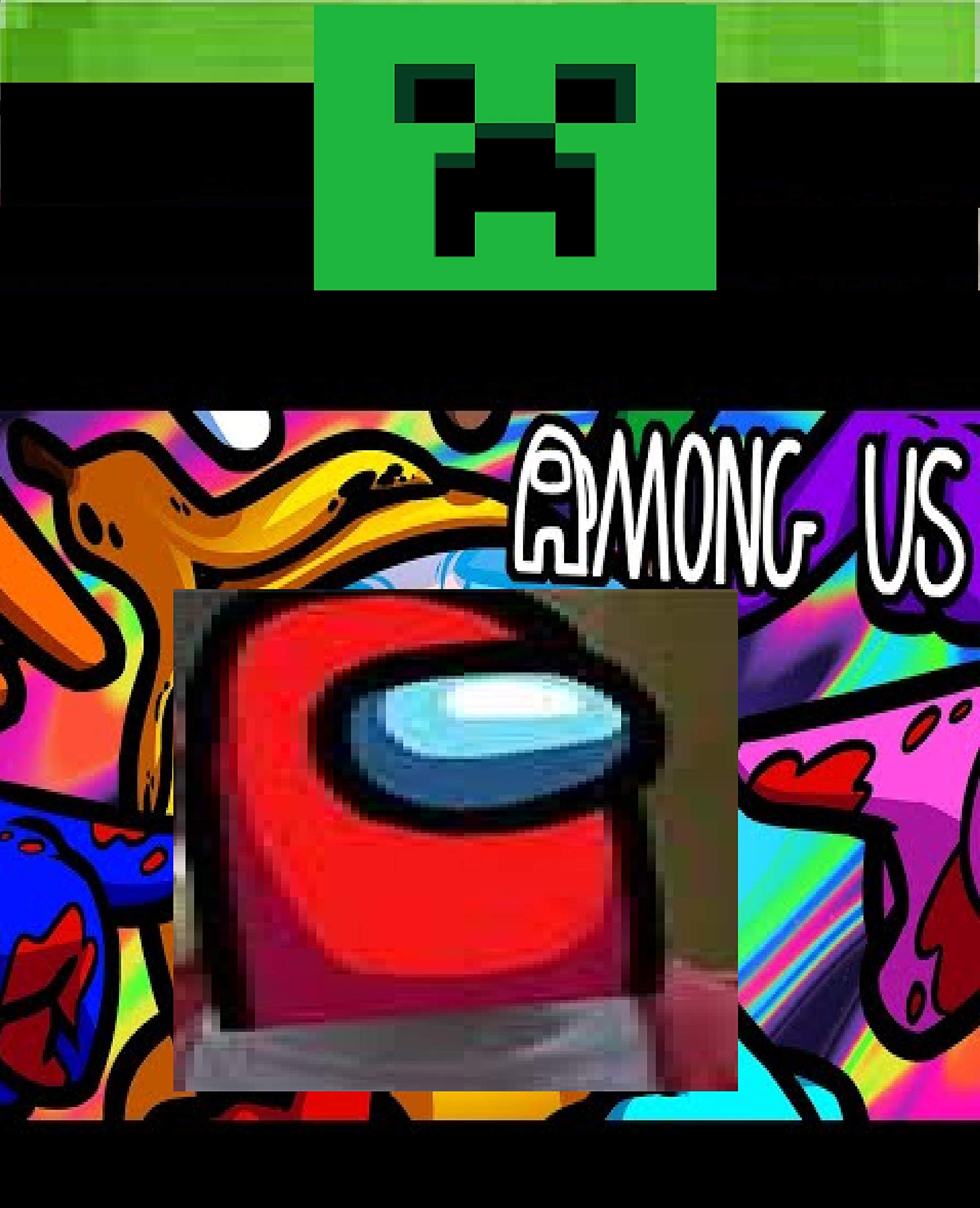 AMONG US CHAT Fun - Clean Jokes, Fun pics and Epic Fails 2020 (Humor Lab)book : Epic Funny minecraft: A Christmas Gaming Experiences and Comic gift Book, graphic novels, Build Ideas, Starter Base,